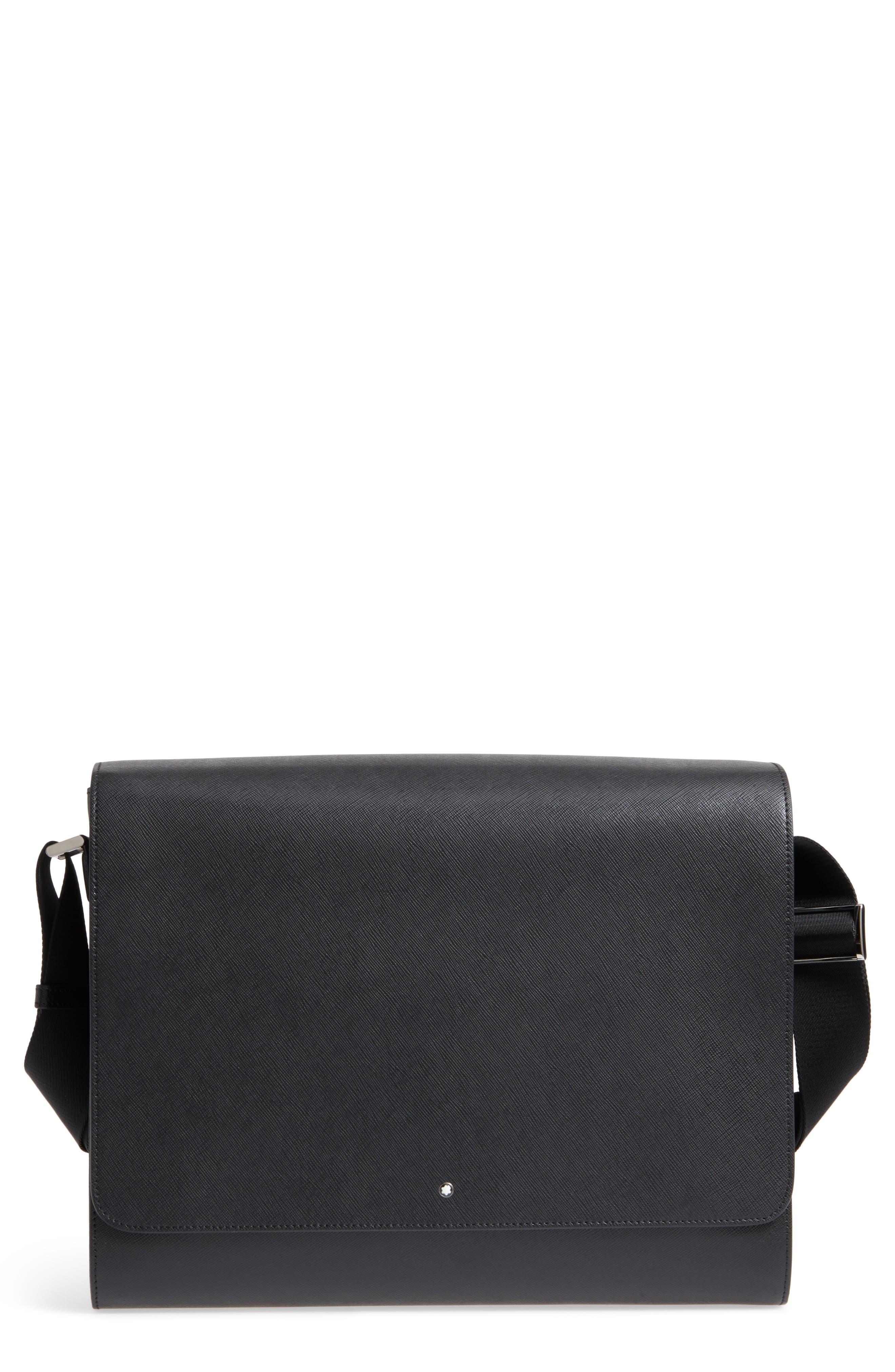 Sartorial Messenger Bag,                         Main,                         color, 001
