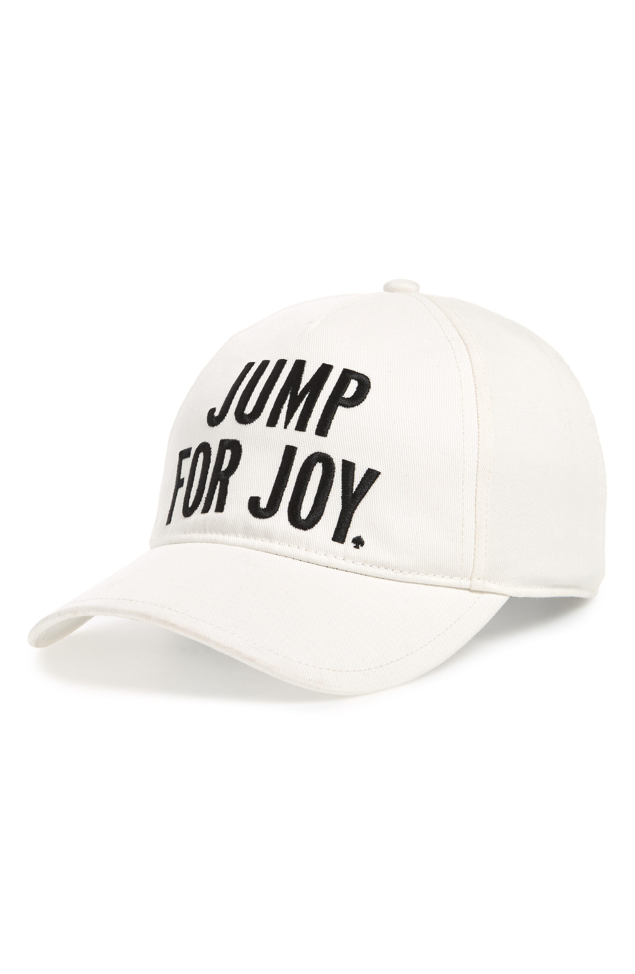 KATE SPADE NEW YORK jump for joy cap, Main, color, 100