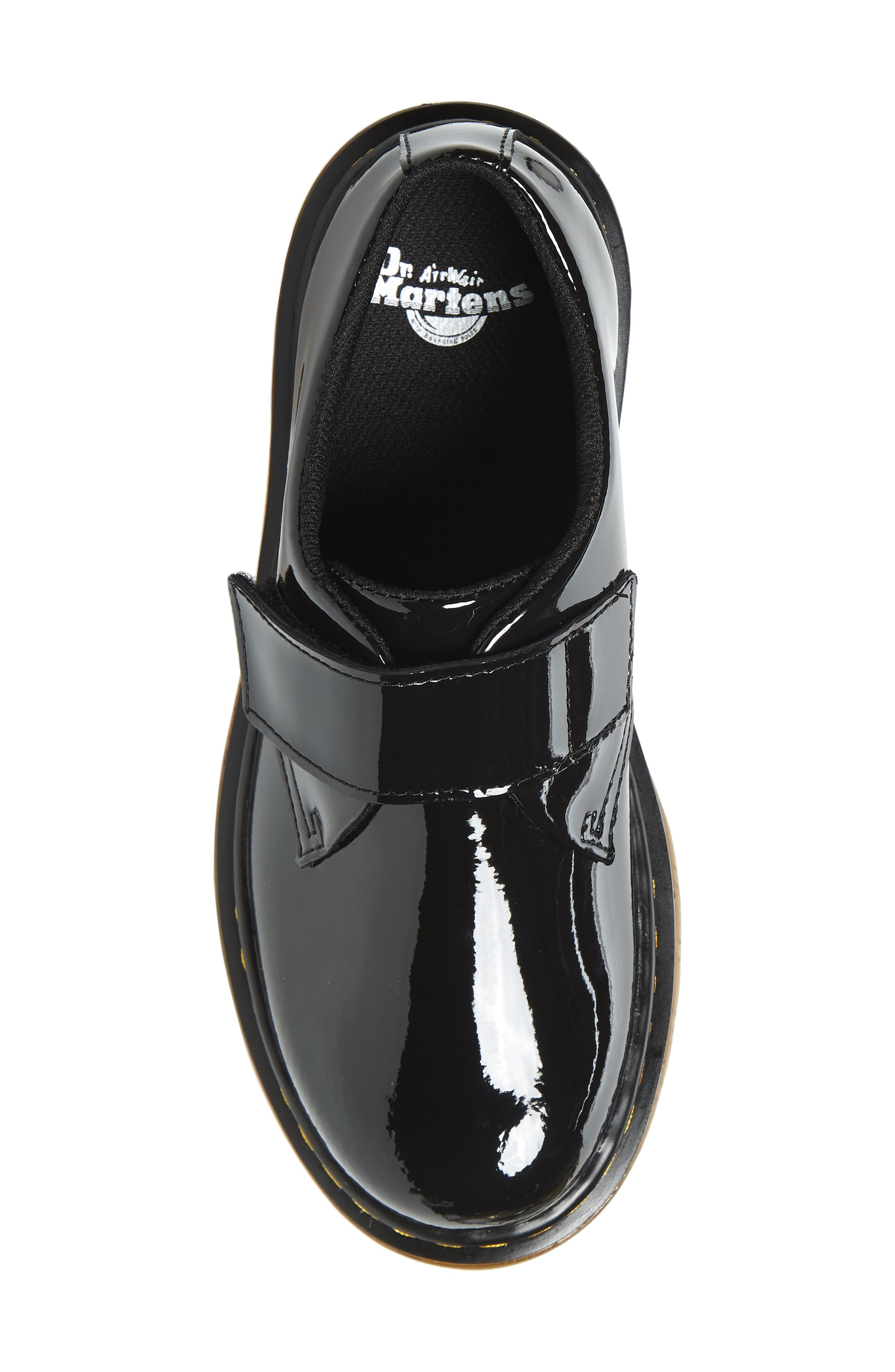 Loafer,                             Alternate thumbnail 5, color,                             BLACK PATENT