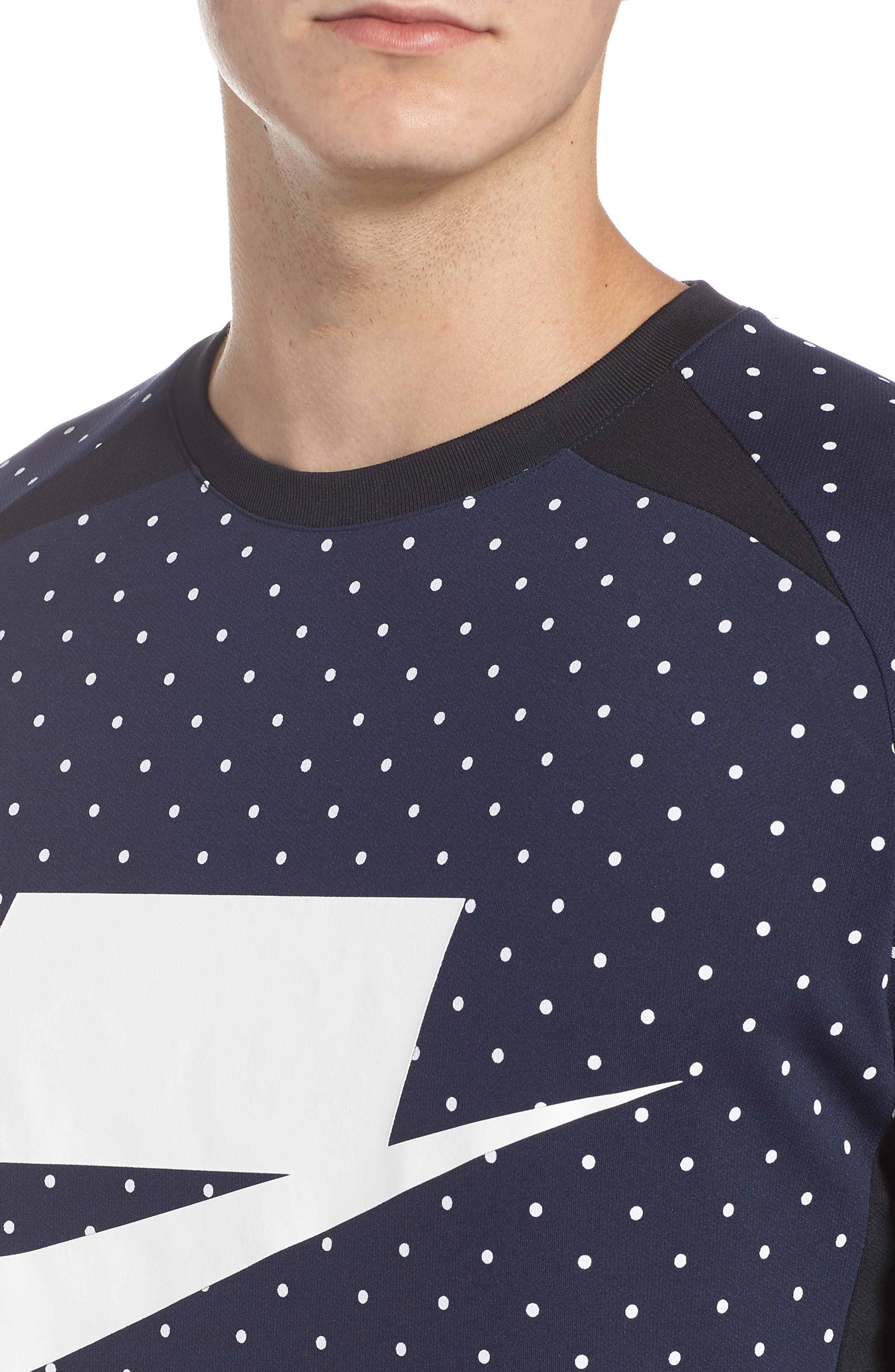 NSW Long Sleeve Shirt,                             Alternate thumbnail 4, color,                             451