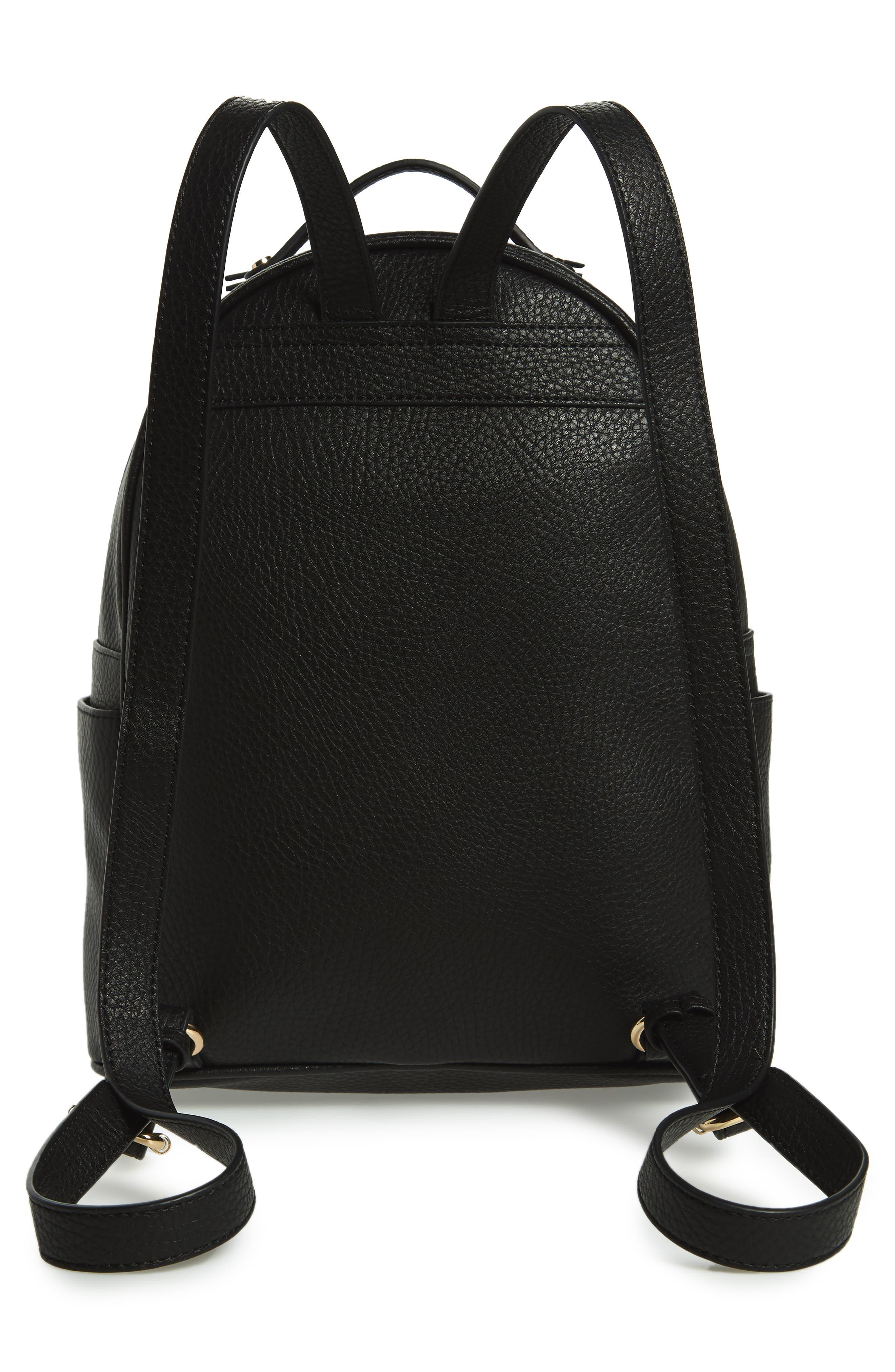 Mali + Lili Madison Vegan Leather Backpack,                             Alternate thumbnail 6, color,
