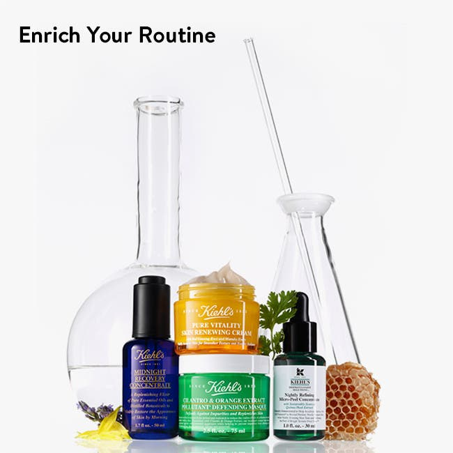 Enrich your routine.