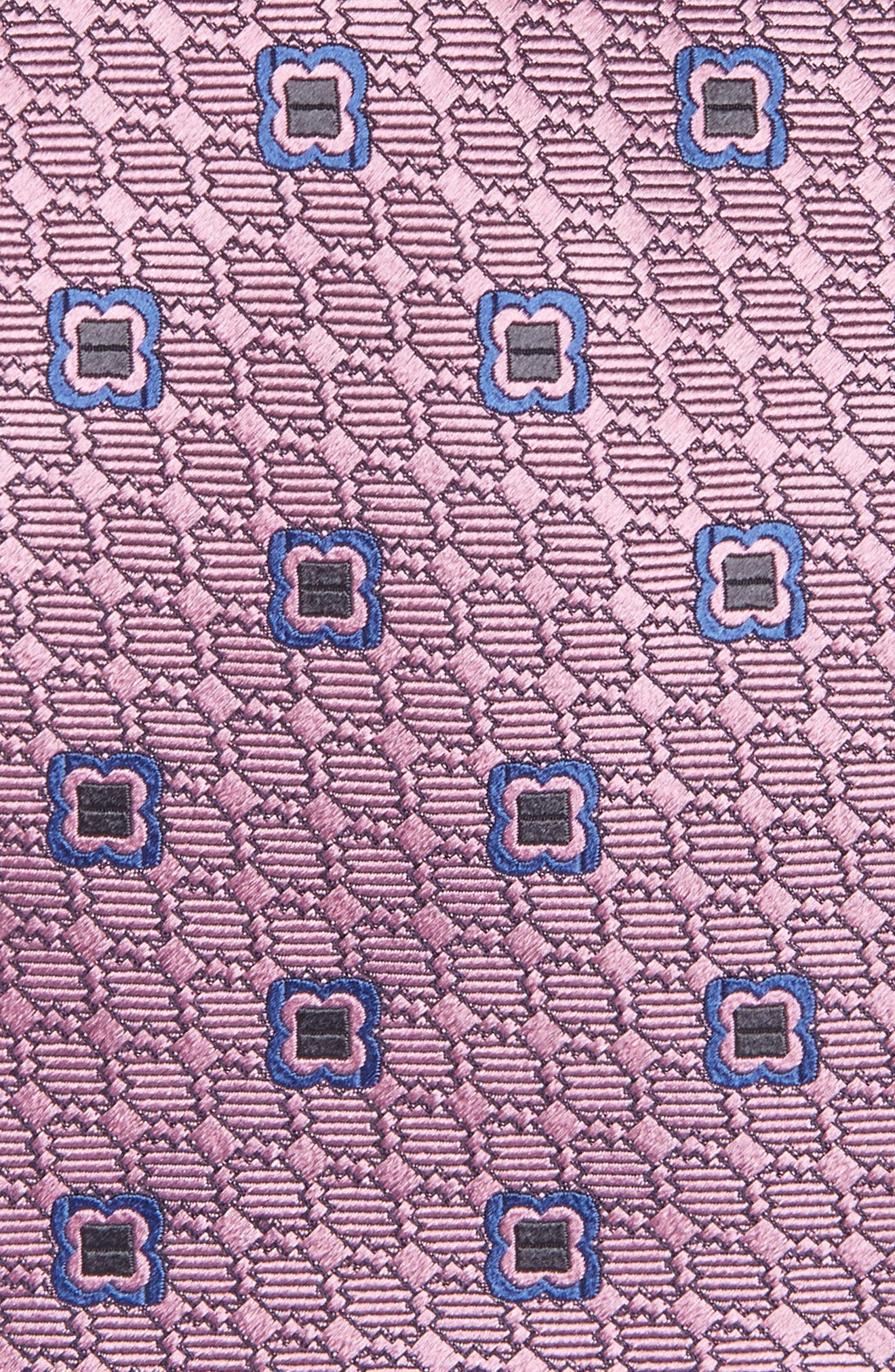 Geometric Silk Tie,                             Alternate thumbnail 2, color,                             662