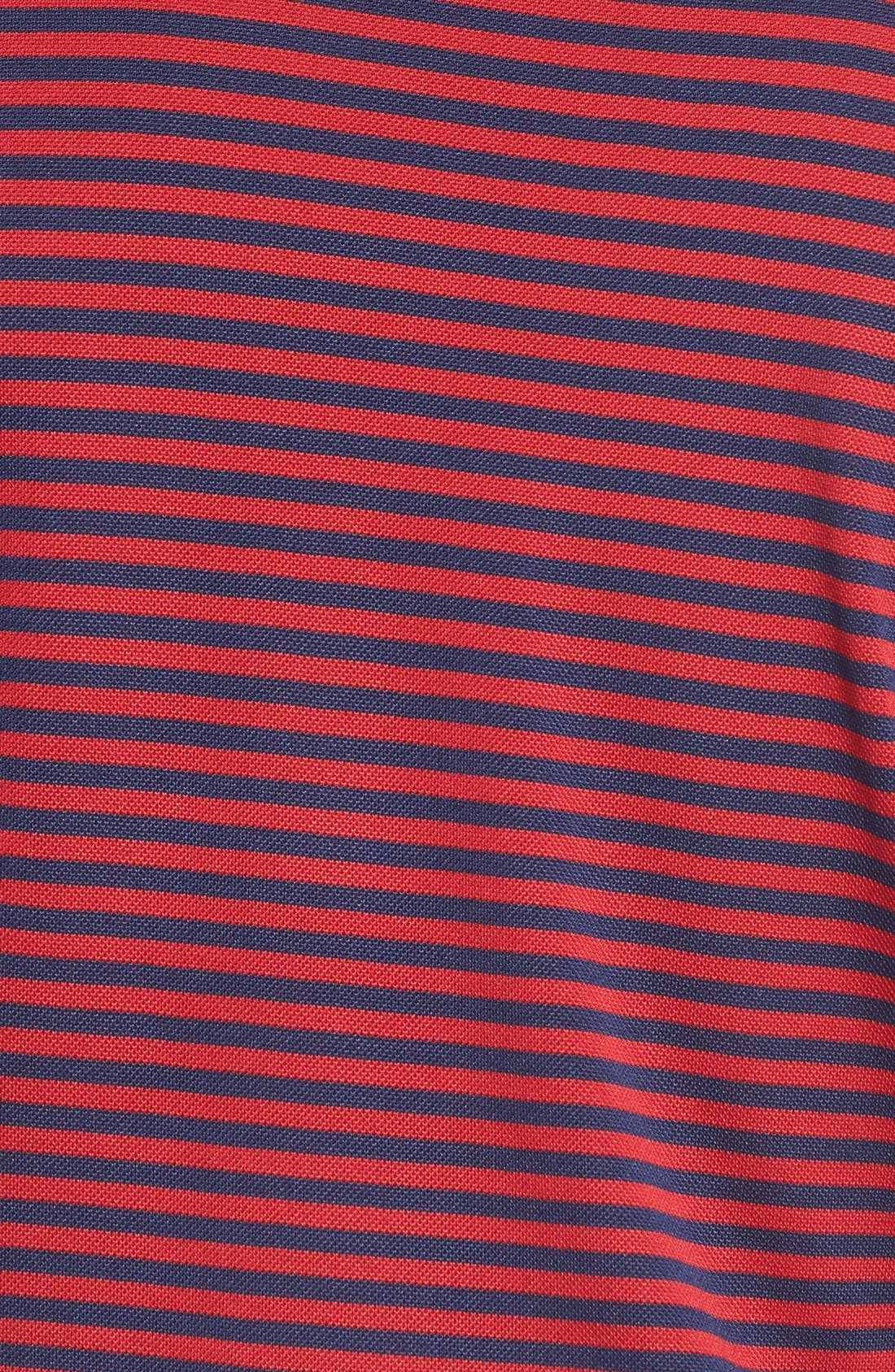 XH2O Feed Stripe Stretch Golf Polo,                             Alternate thumbnail 92, color,
