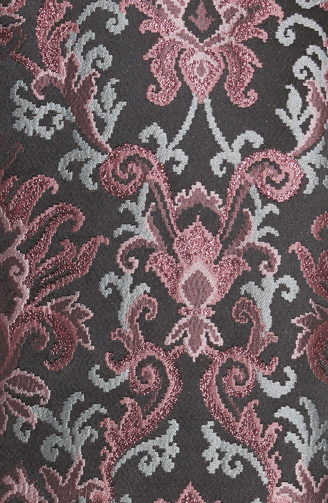 tapestry jacquard coat,                             Alternate thumbnail 6, color,                             004
