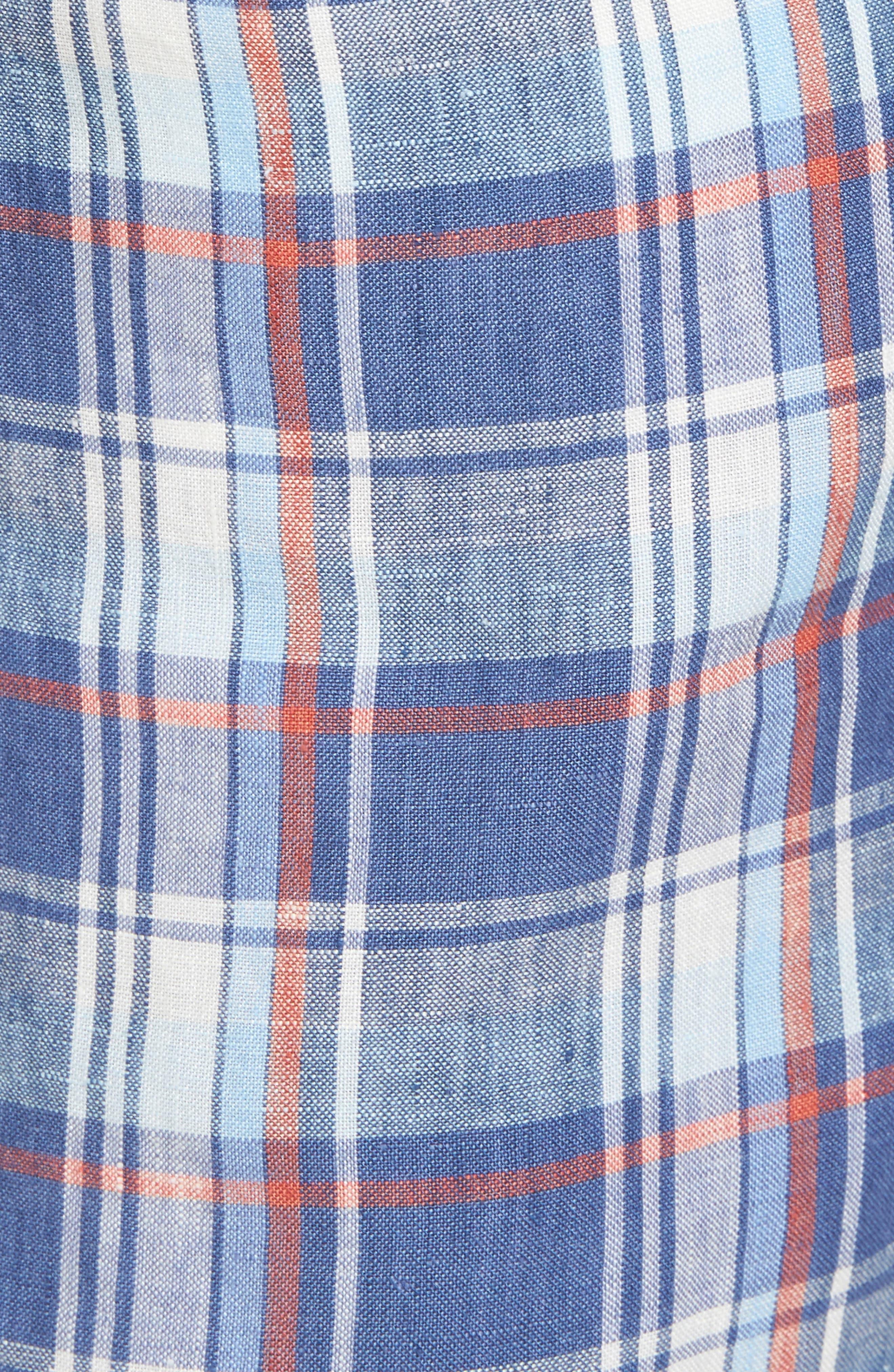 Plaid De Leon Reversible Shorts,                             Alternate thumbnail 12, color,