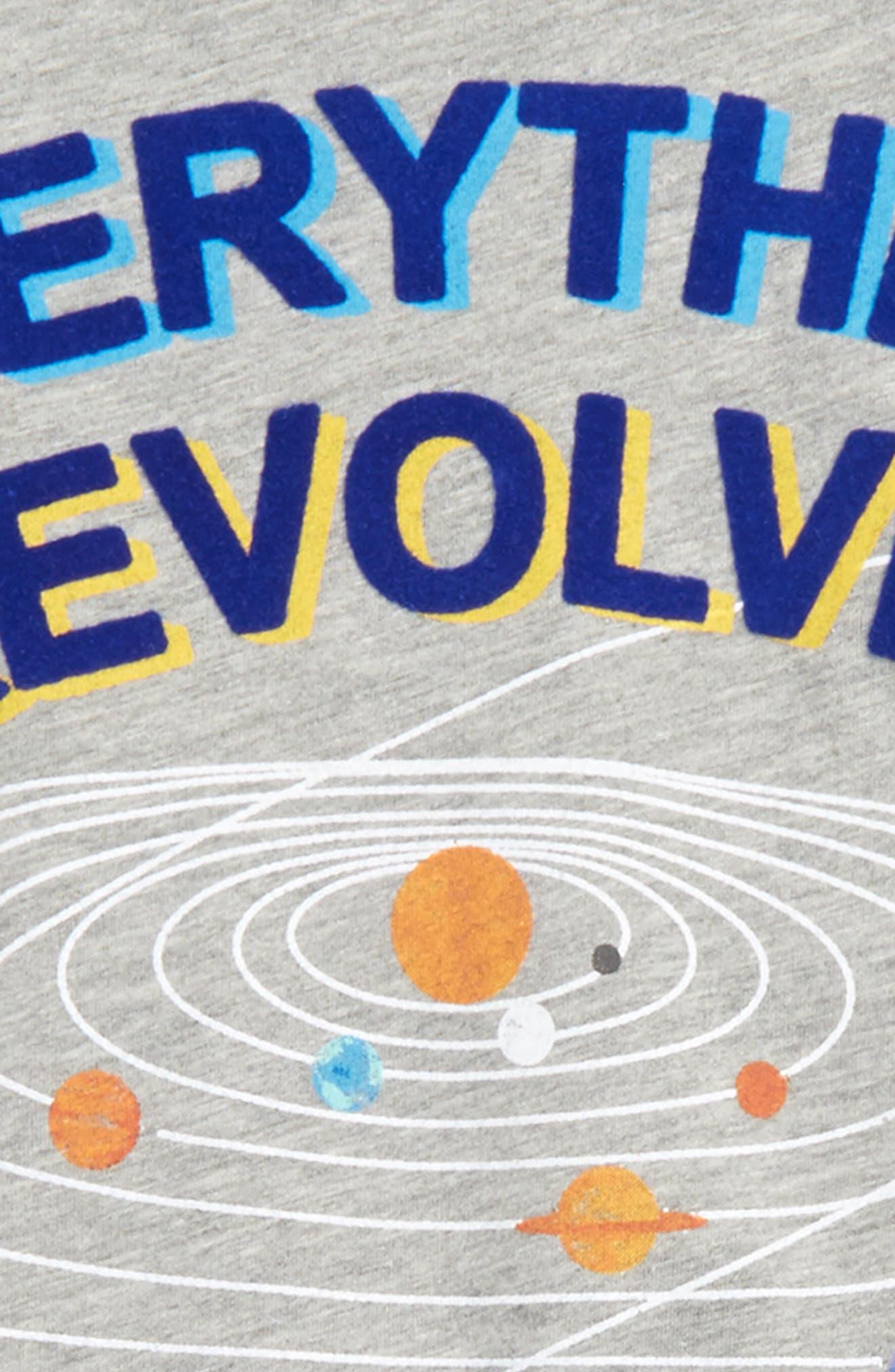 Everything Revolves Around Me T-Shirt,                             Alternate thumbnail 4, color,                             054