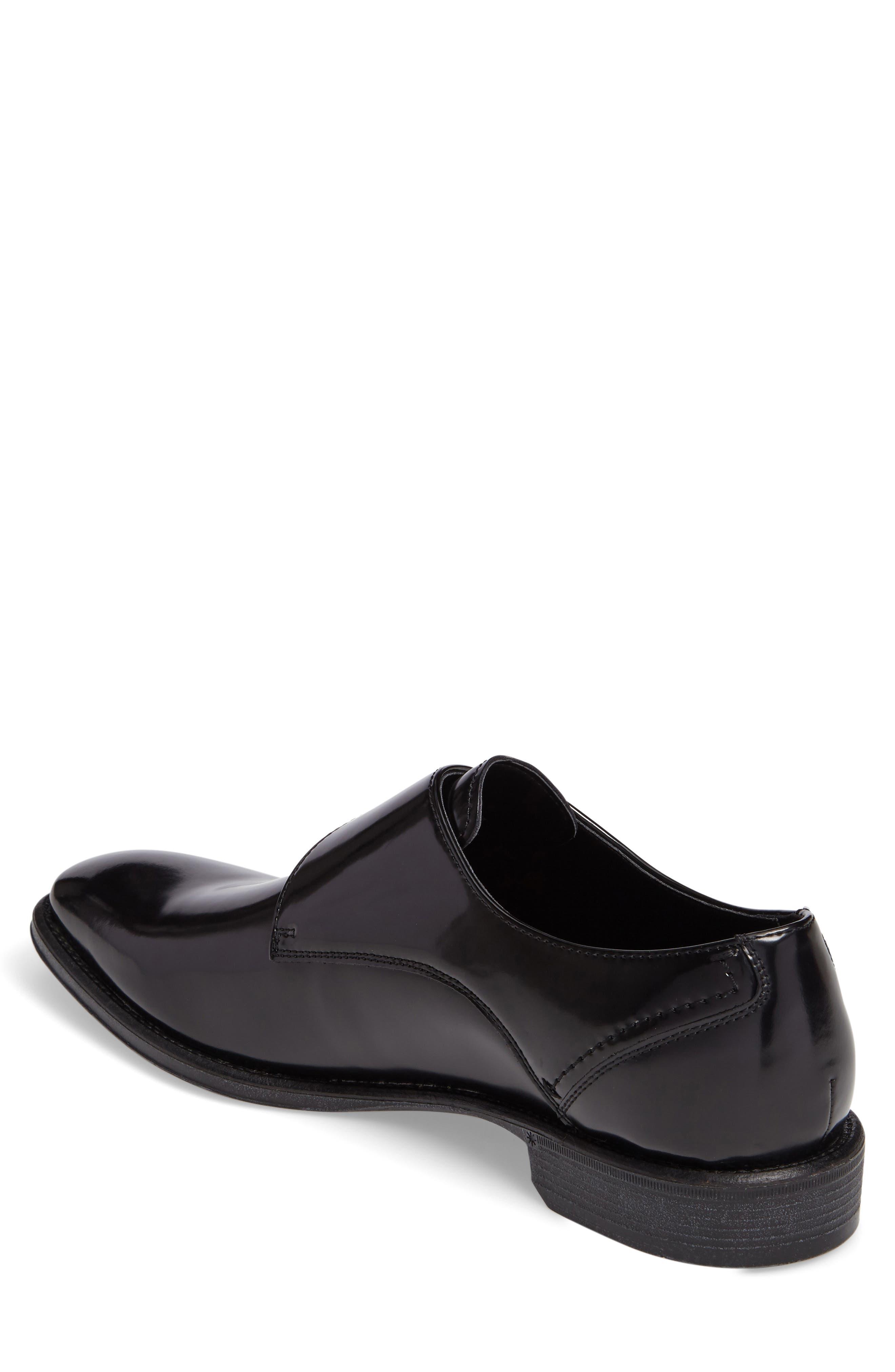 Left Side Monk Strap Shoe,                             Alternate thumbnail 2, color,                             001