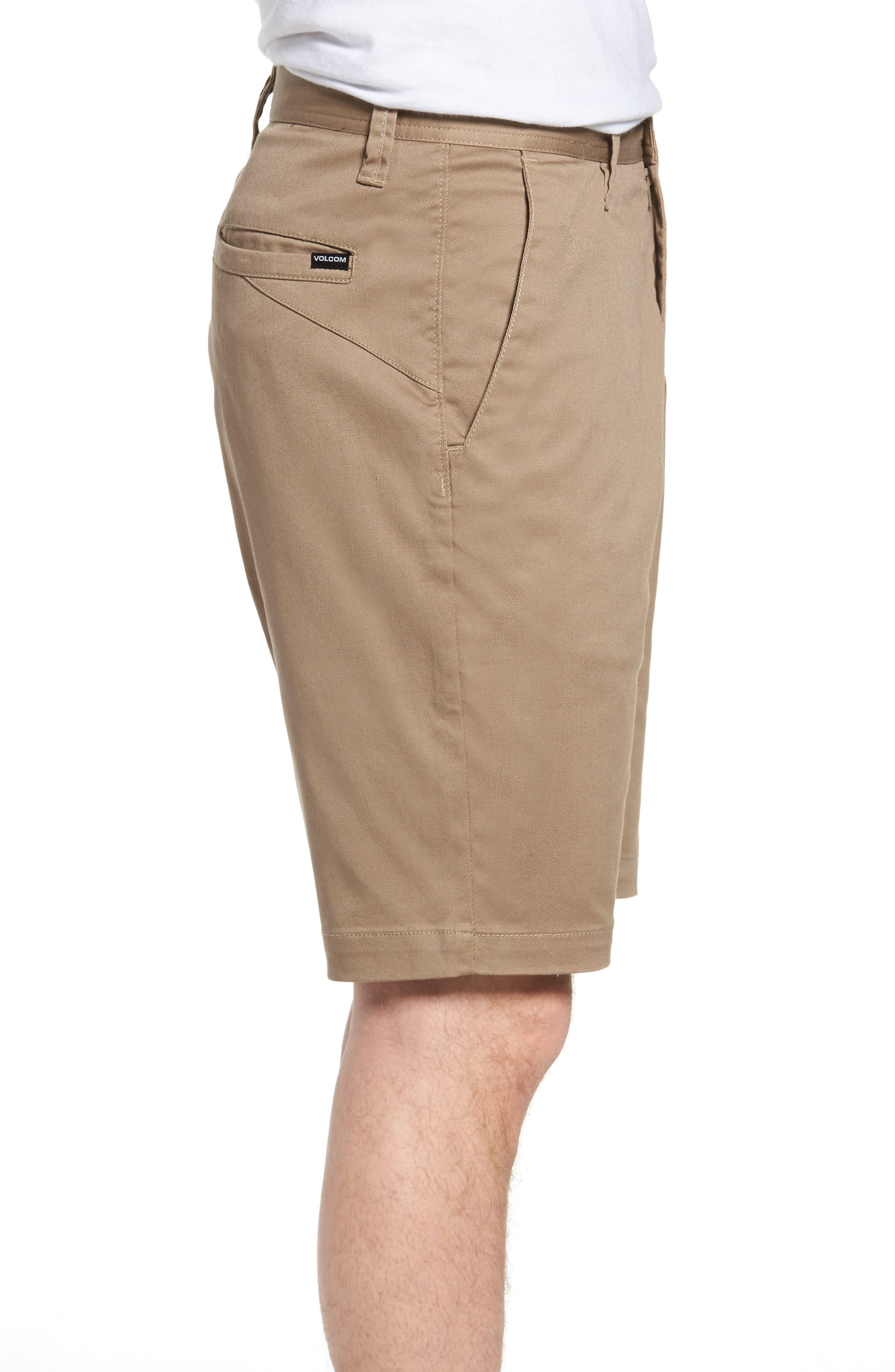 'Modern' Stretch Chino Shorts,                             Alternate thumbnail 40, color,