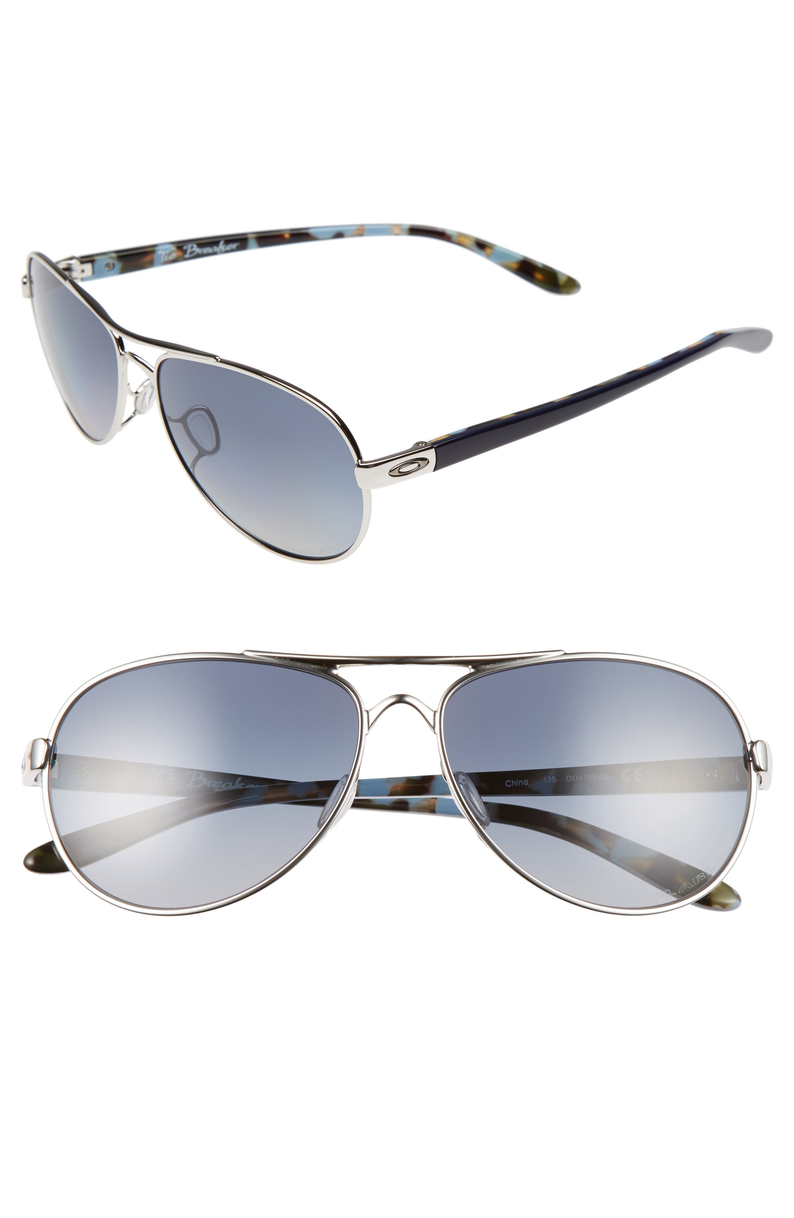 Tie Breaker 55mm Polarized Sunglasses,                             Main thumbnail 1, color,