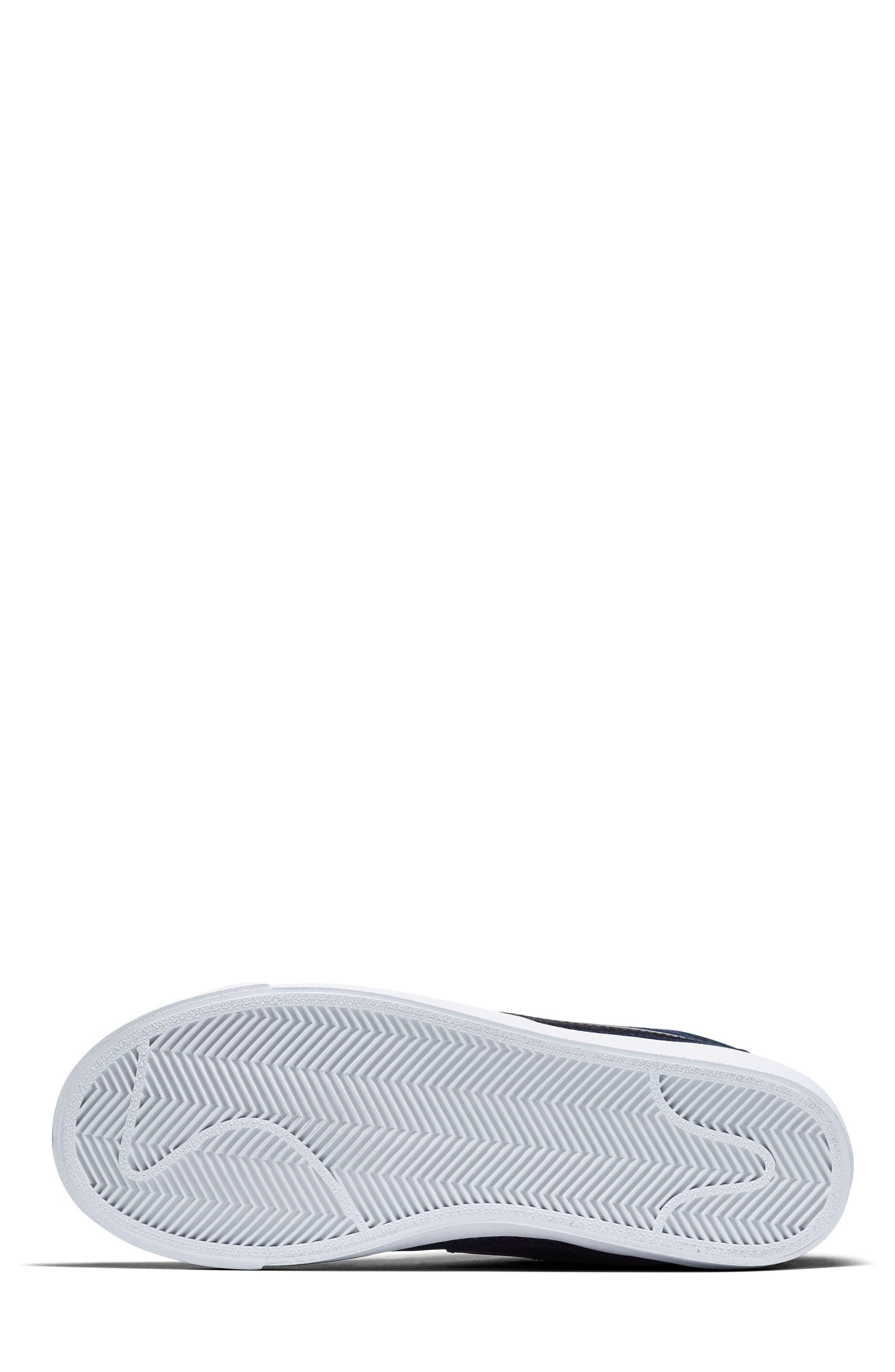 Blazer Mid Premium LX Sneaker,                             Alternate thumbnail 5, color,                             400