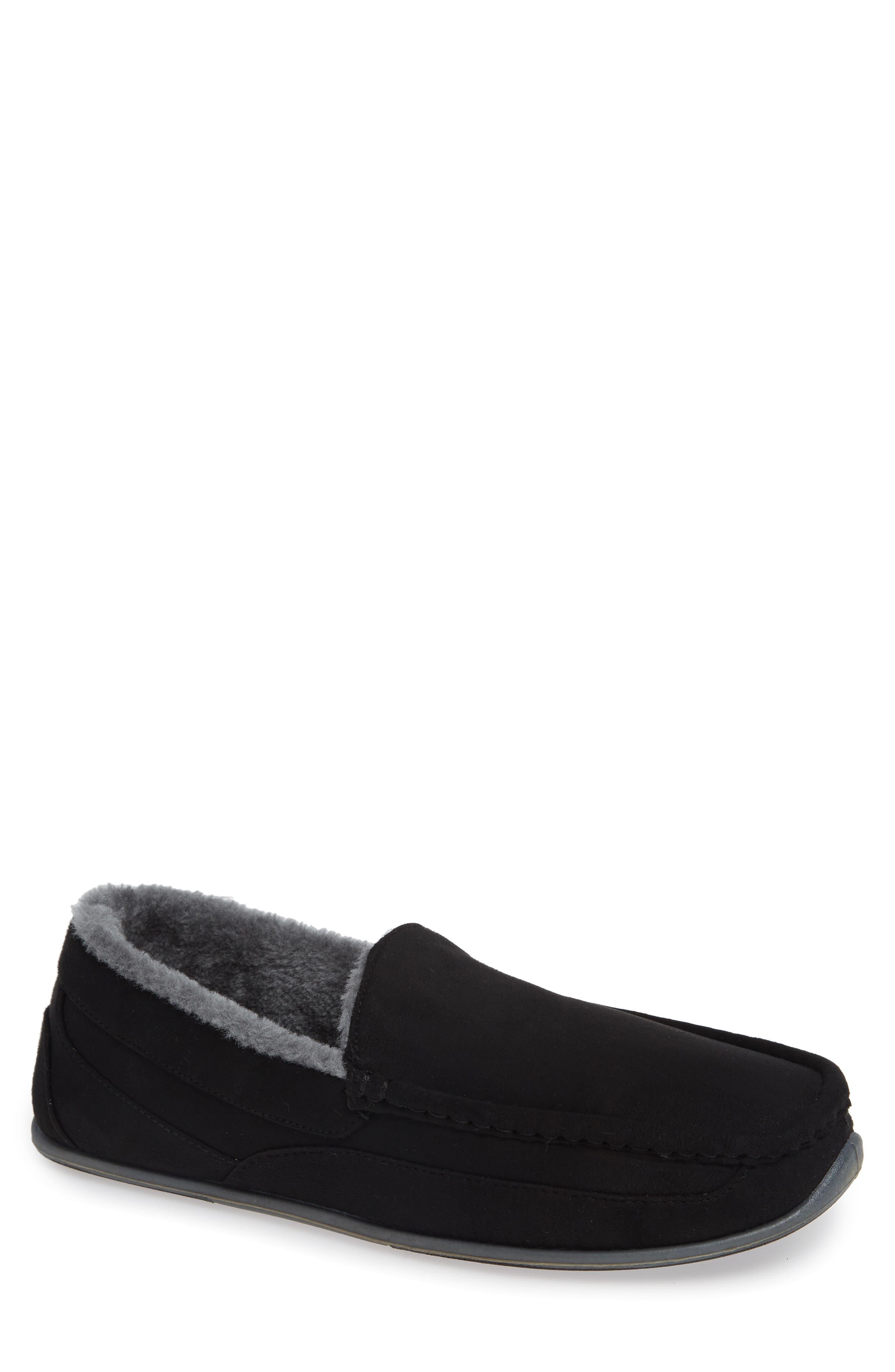 Spun Slipper,                         Main,                         color, BLACK