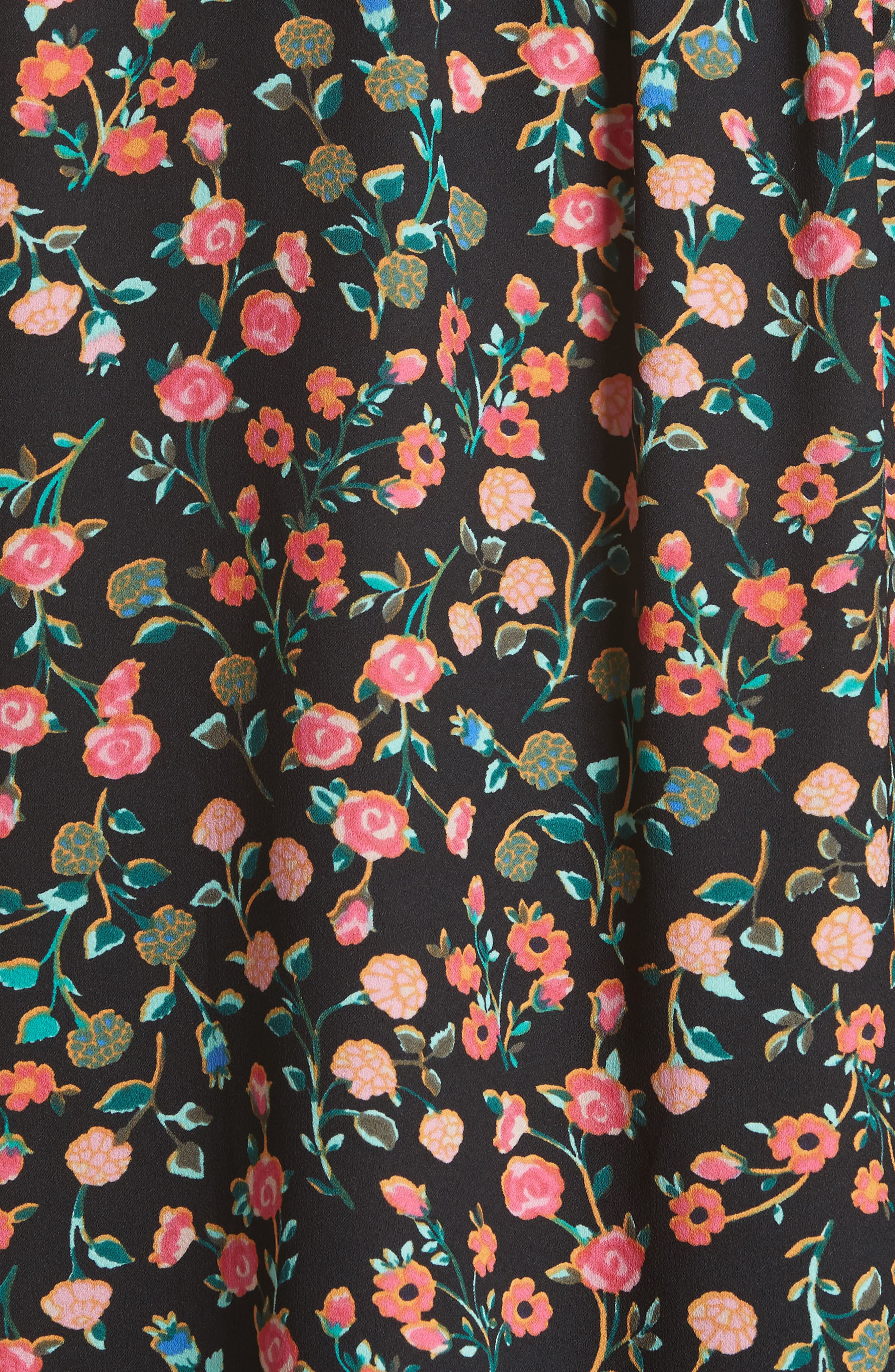 mini bloom ruffled shell,                             Alternate thumbnail 5, color,                             001