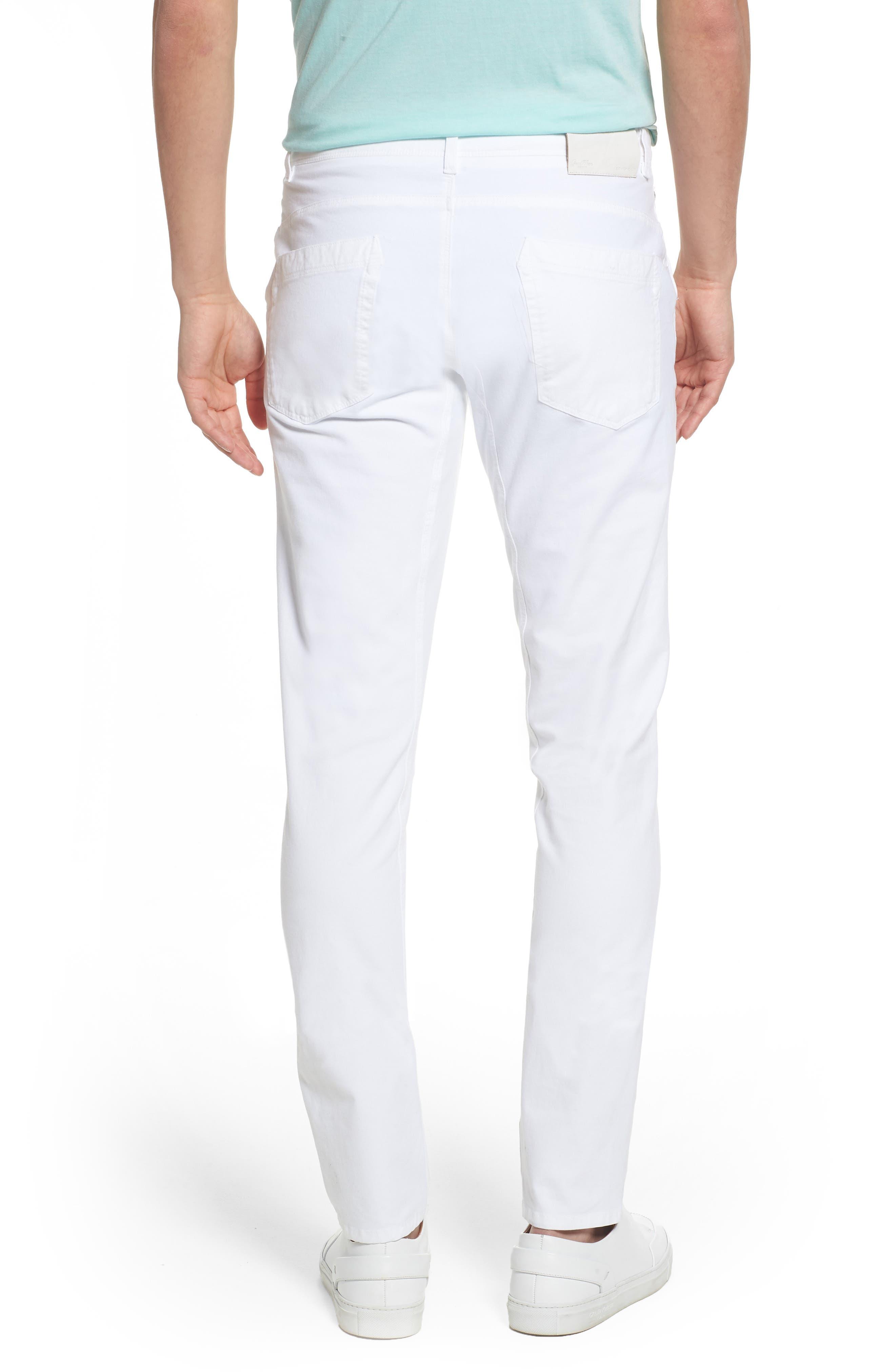 Hybrid Slim Fit Stretch Pants,                             Alternate thumbnail 2, color,                             100