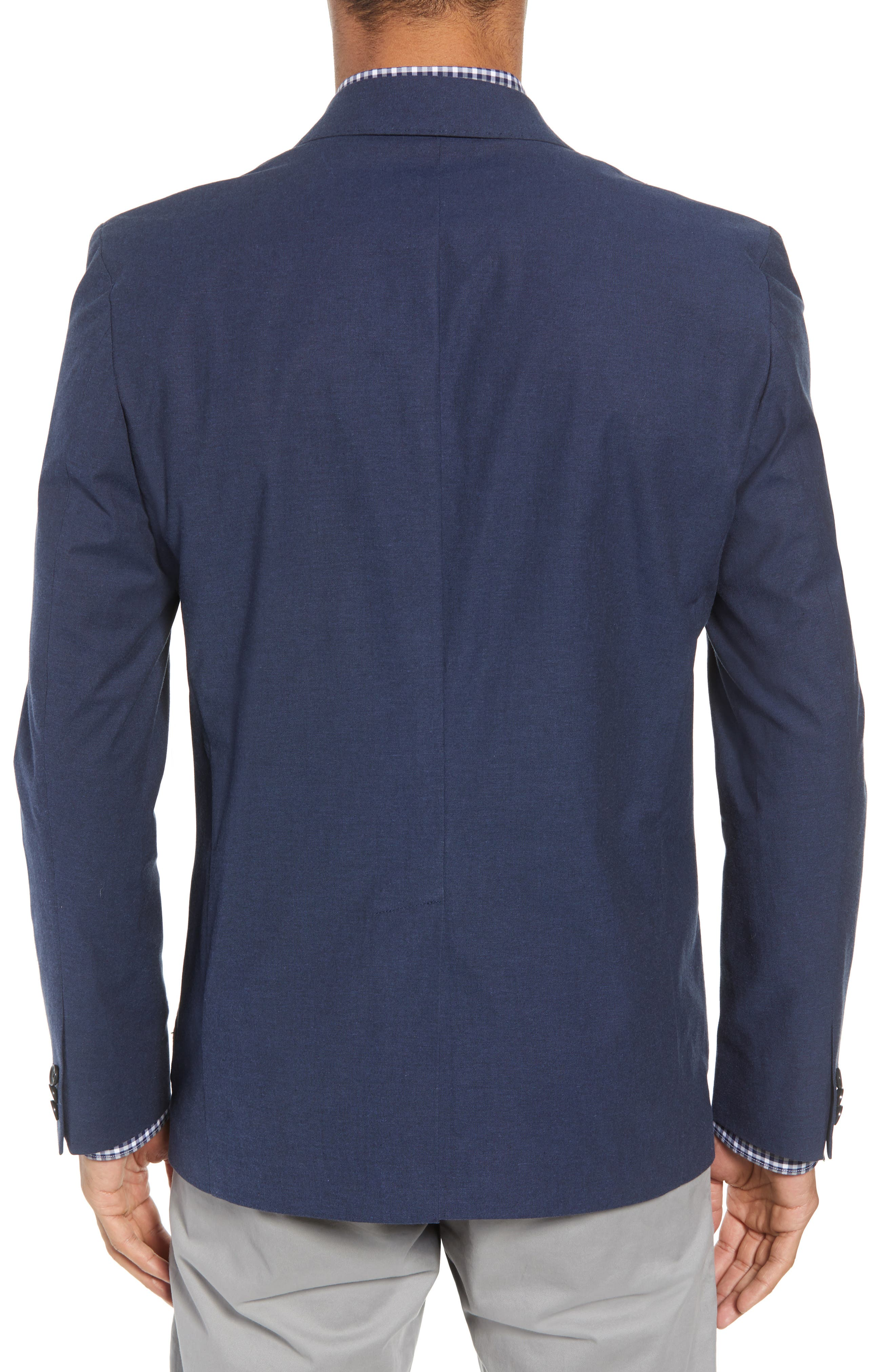 Washed Stretch Cotton Blazer,                             Alternate thumbnail 2, color,                             410