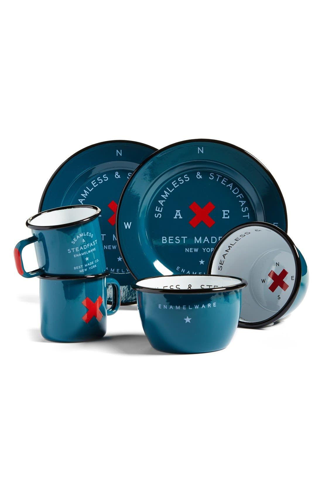 BEST MADE CO. Best Made Co 'Seamless & Steadfast' Enamelware Cups, Bowls & Plates, Main, color, 400