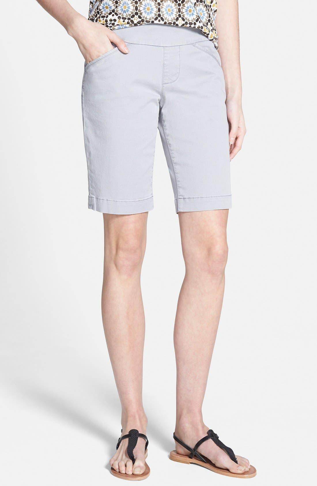 'Ainsley' Slim Bermuda Shorts,                             Main thumbnail 4, color,