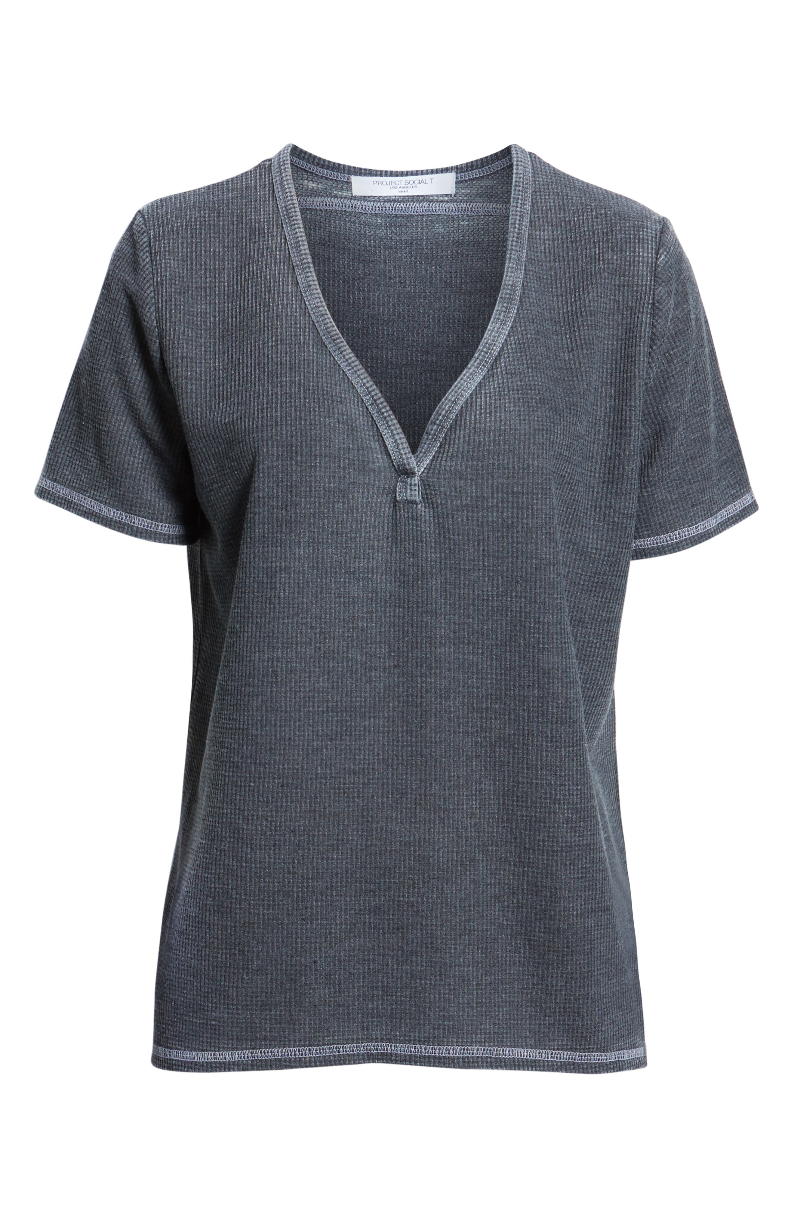 Priestly Thermal Tee,                             Alternate thumbnail 6, color,                             001