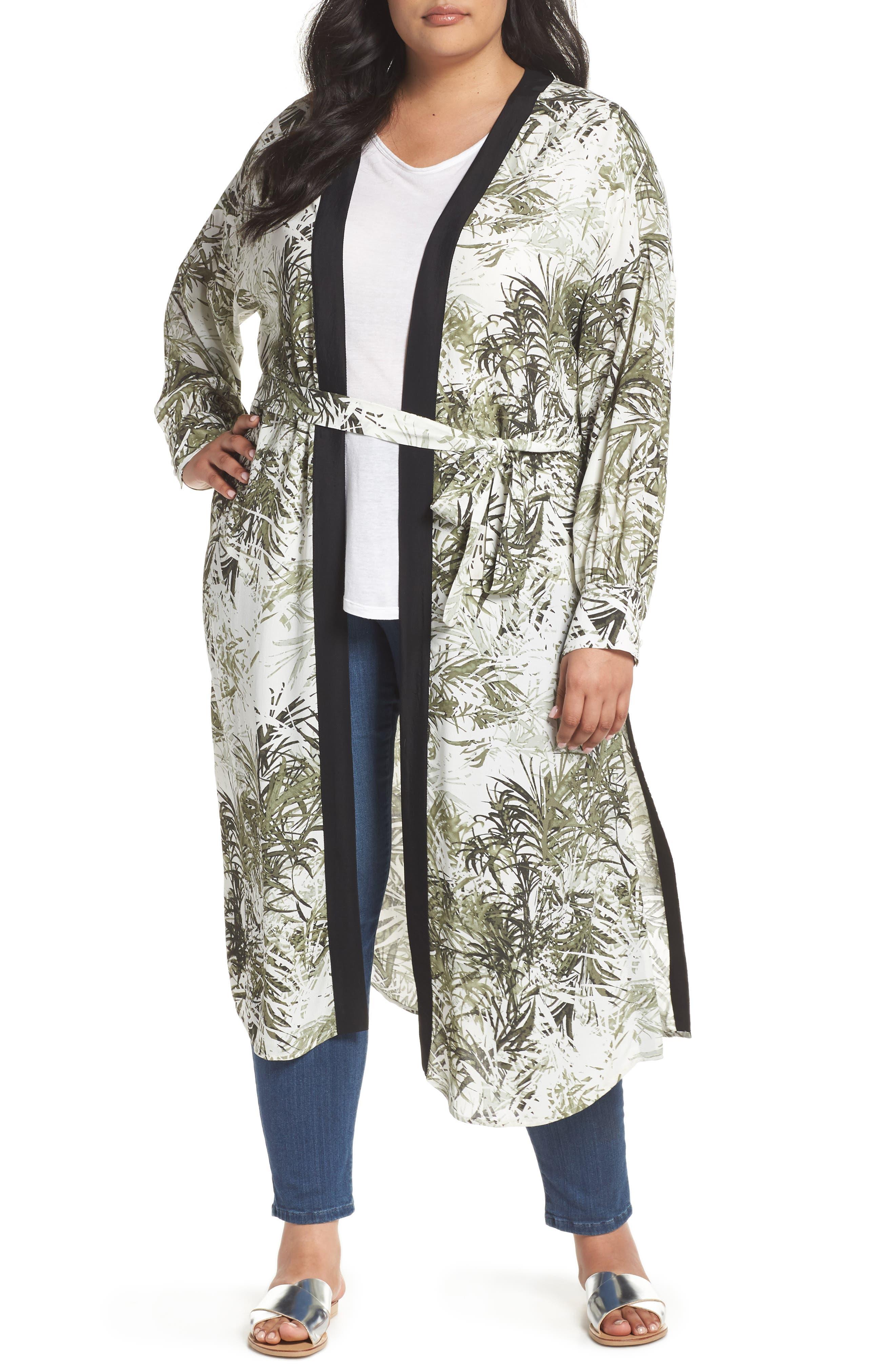 Calico Kimono,                             Main thumbnail 1, color,                             306