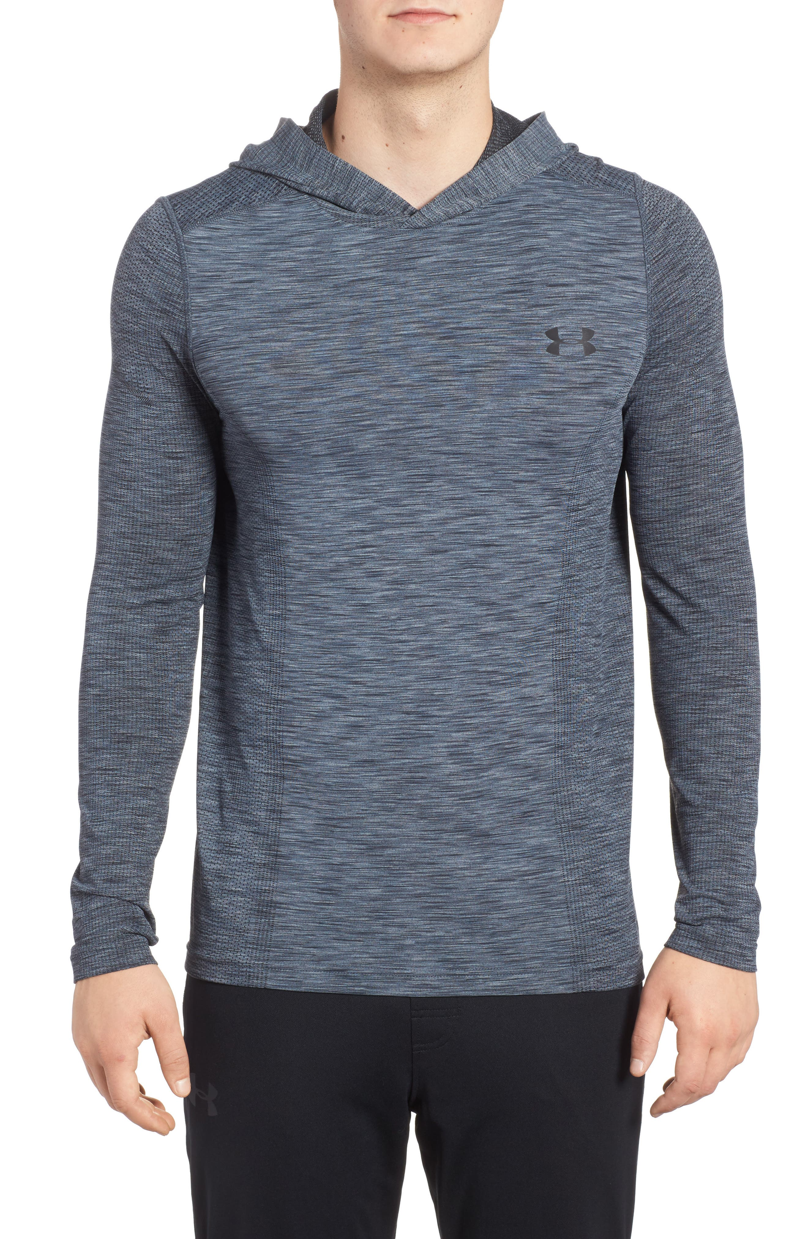 Threadbone Fitted Seamless Hoodie,                             Main thumbnail 2, color,
