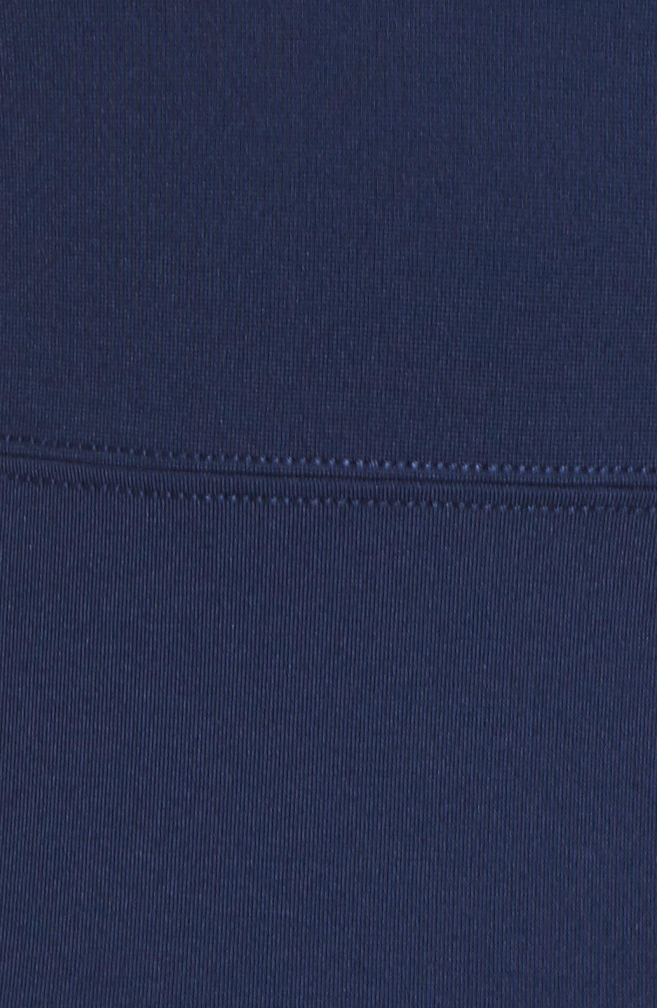 Lace Back Fit & Flare Dress,                             Alternate thumbnail 5, color,                             400