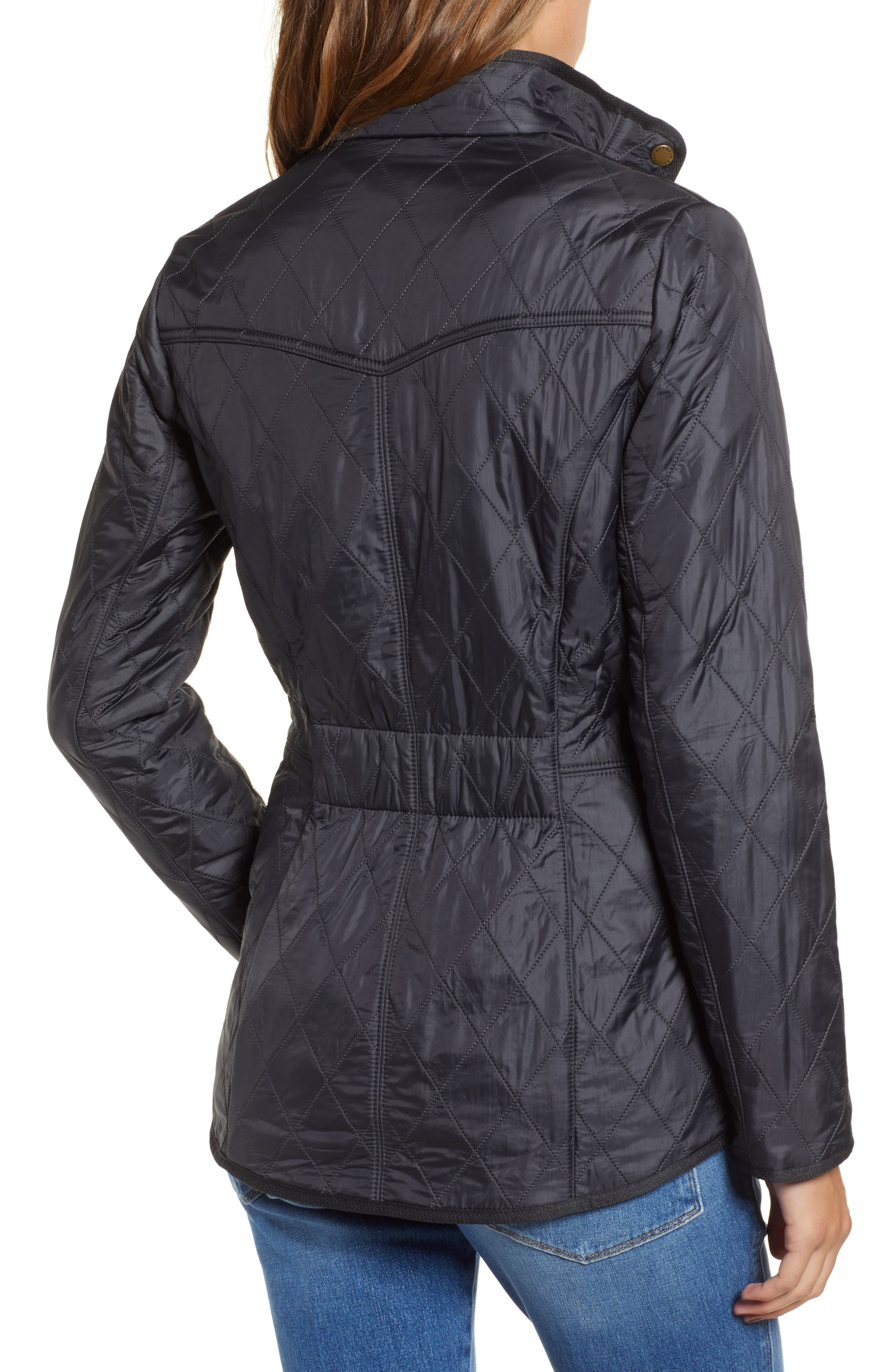 'Cavalry' Quilted Jacket,                             Alternate thumbnail 28, color,