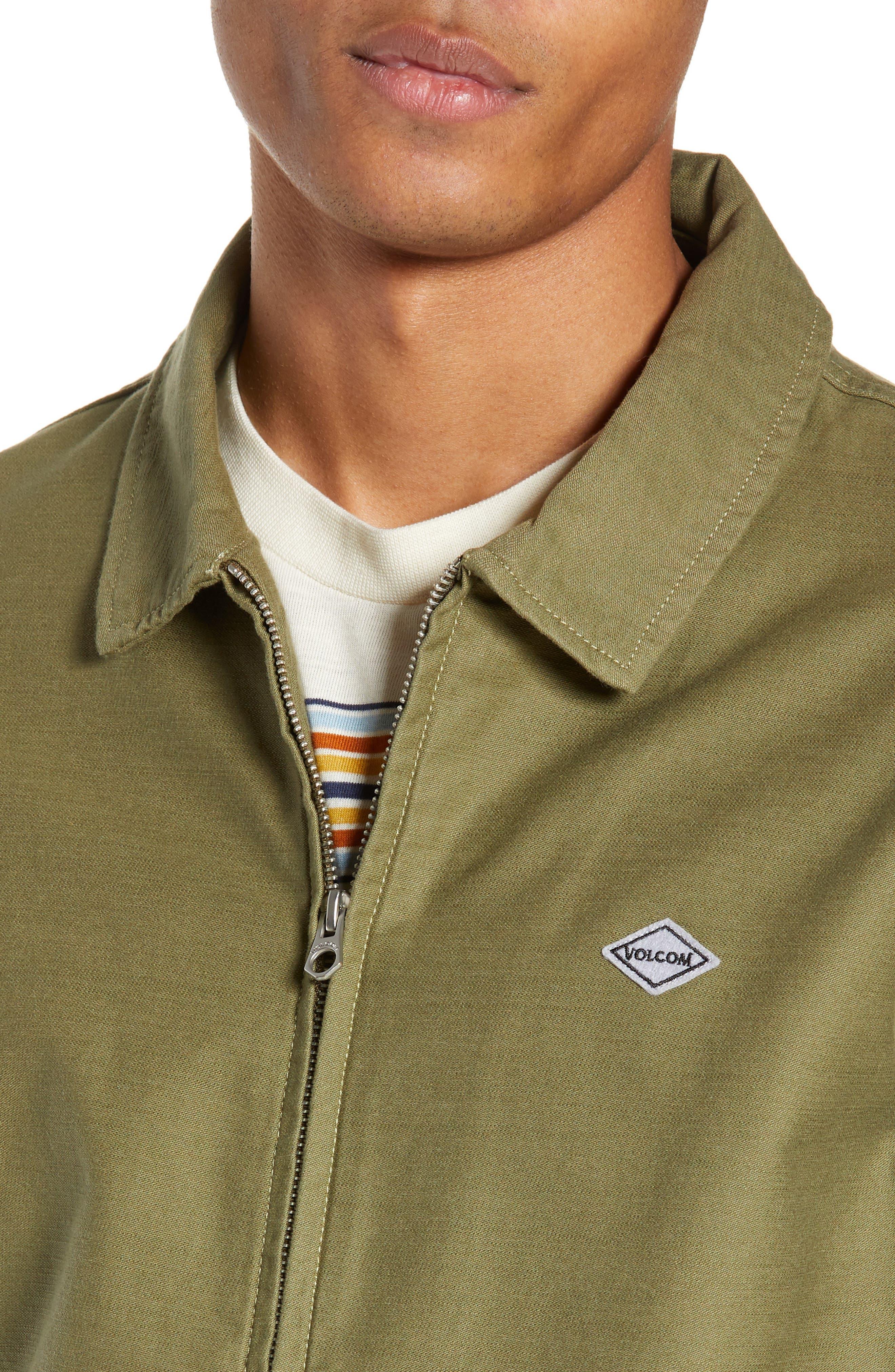 Burkey Jacket,                             Alternate thumbnail 4, color,                             VINE GREEN
