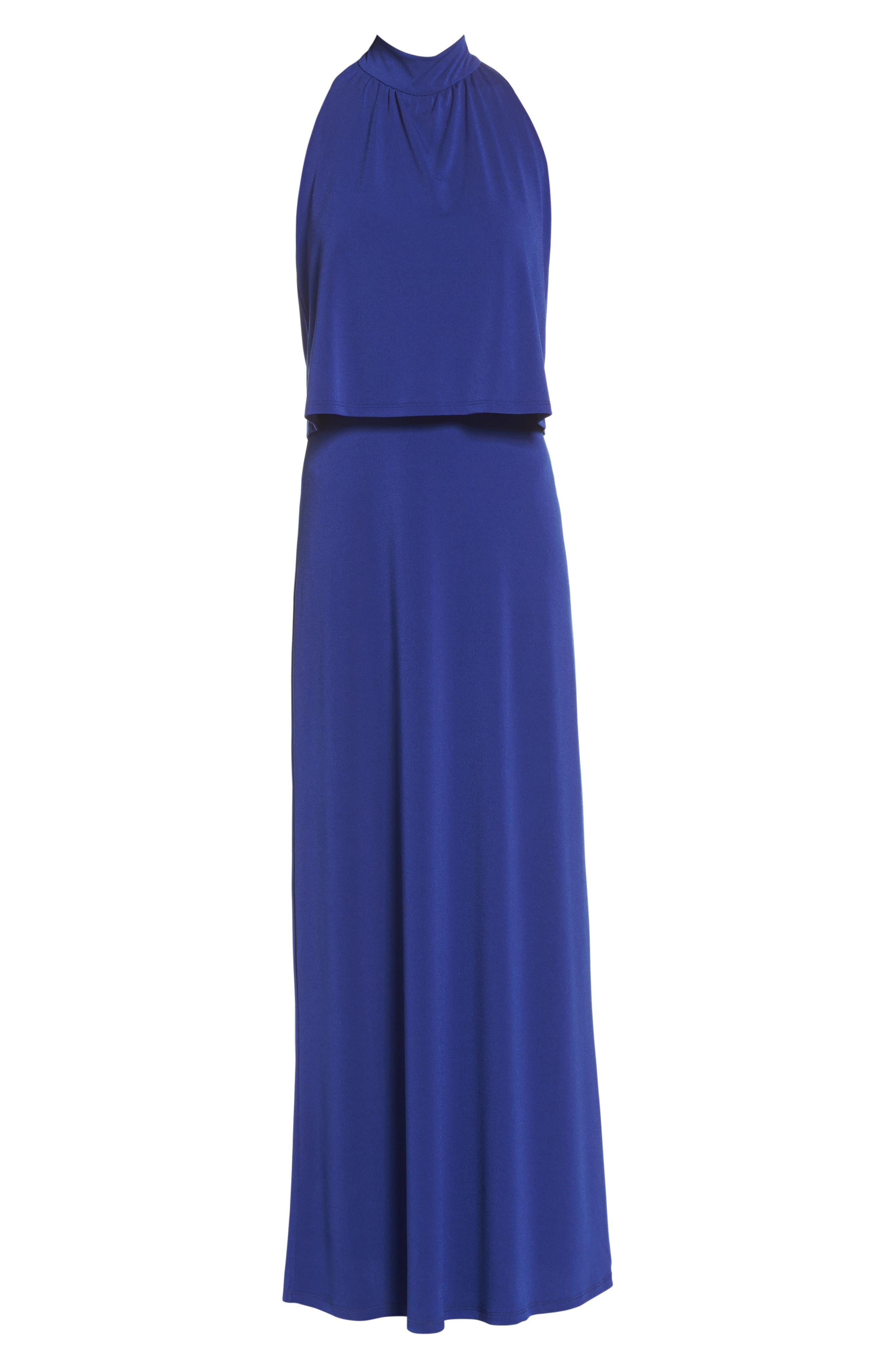 'Syler' Popover Jersey Maxi Dress,                             Alternate thumbnail 6, color,                             415