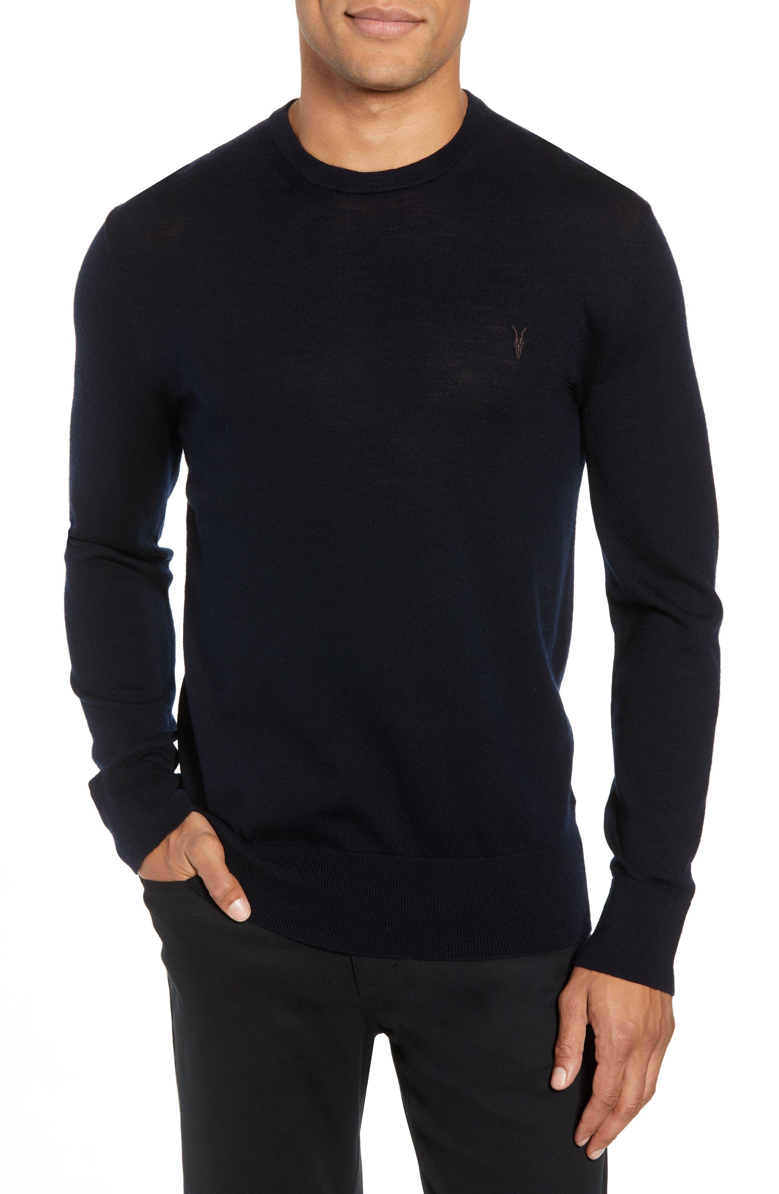 Mode Slim Fit Merino Wool Sweater,                             Main thumbnail 6, color,