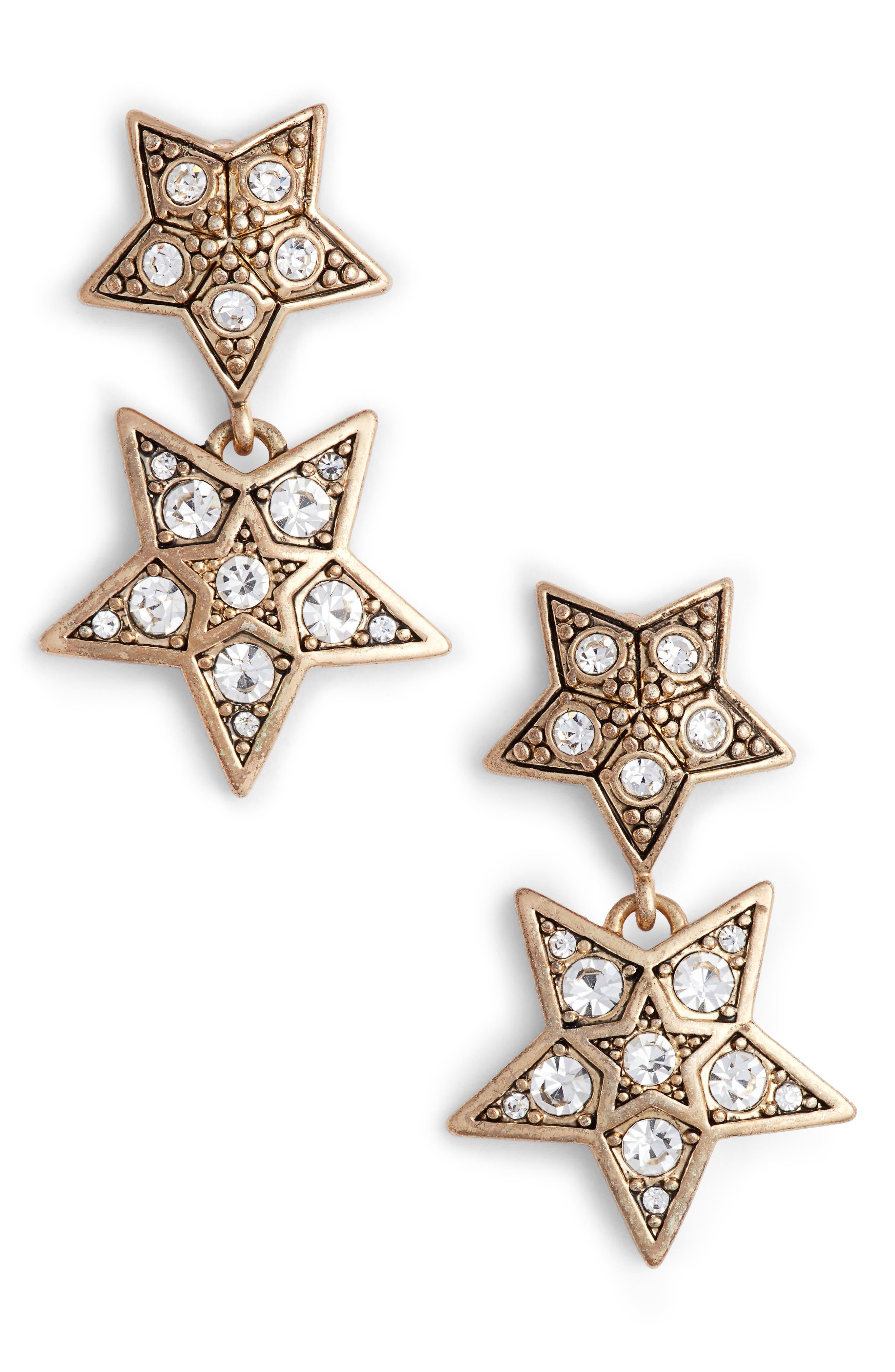 Double Drop Earrings,                             Main thumbnail 1, color,                             710