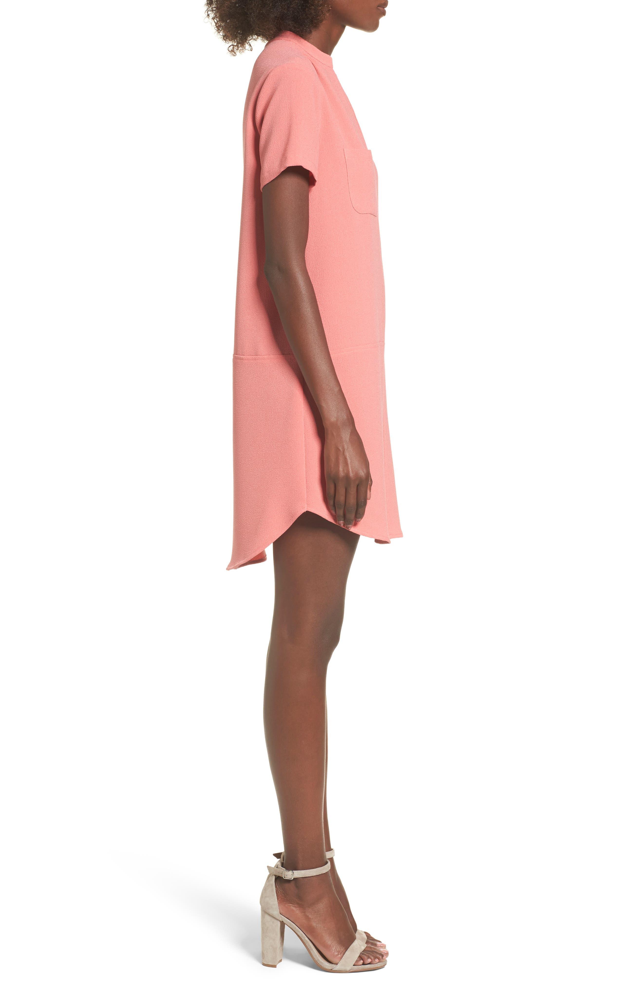 Hailey Crepe Dress,                             Alternate thumbnail 77, color,