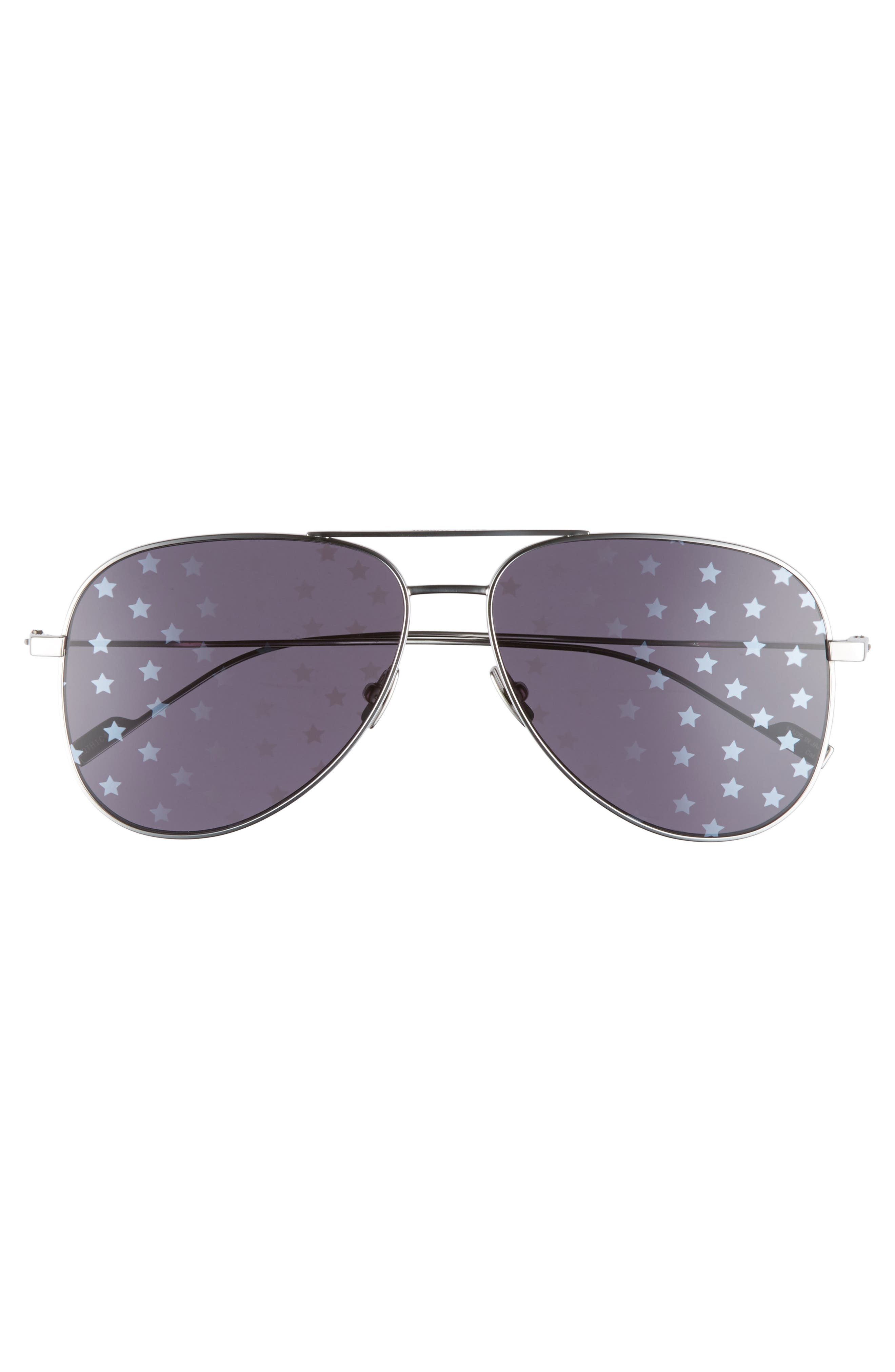 SL193 59mm Aviator Sunglasses,                             Alternate thumbnail 5, color,