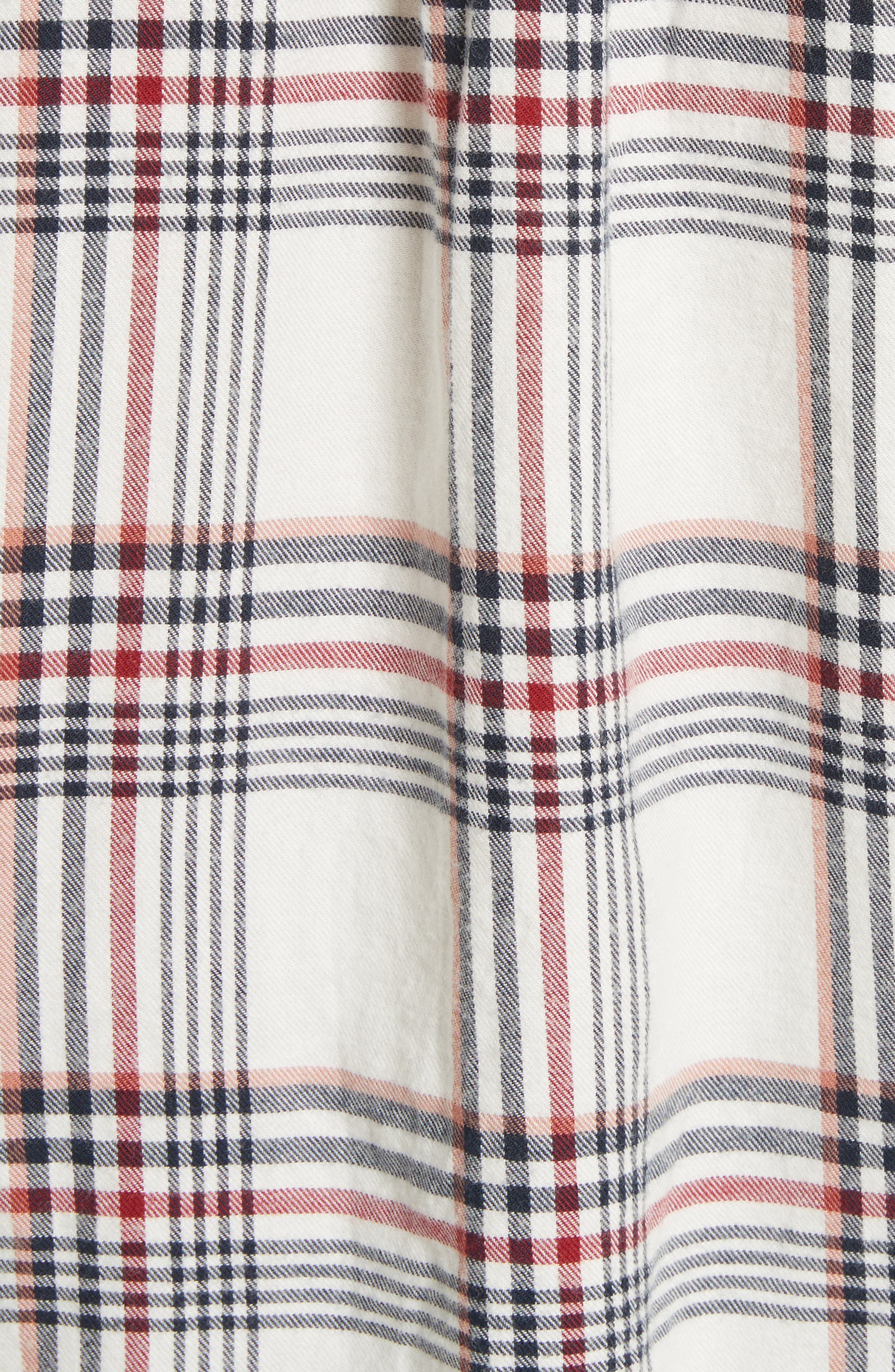 Antolina Plaid Cotton Top,                             Alternate thumbnail 5, color,