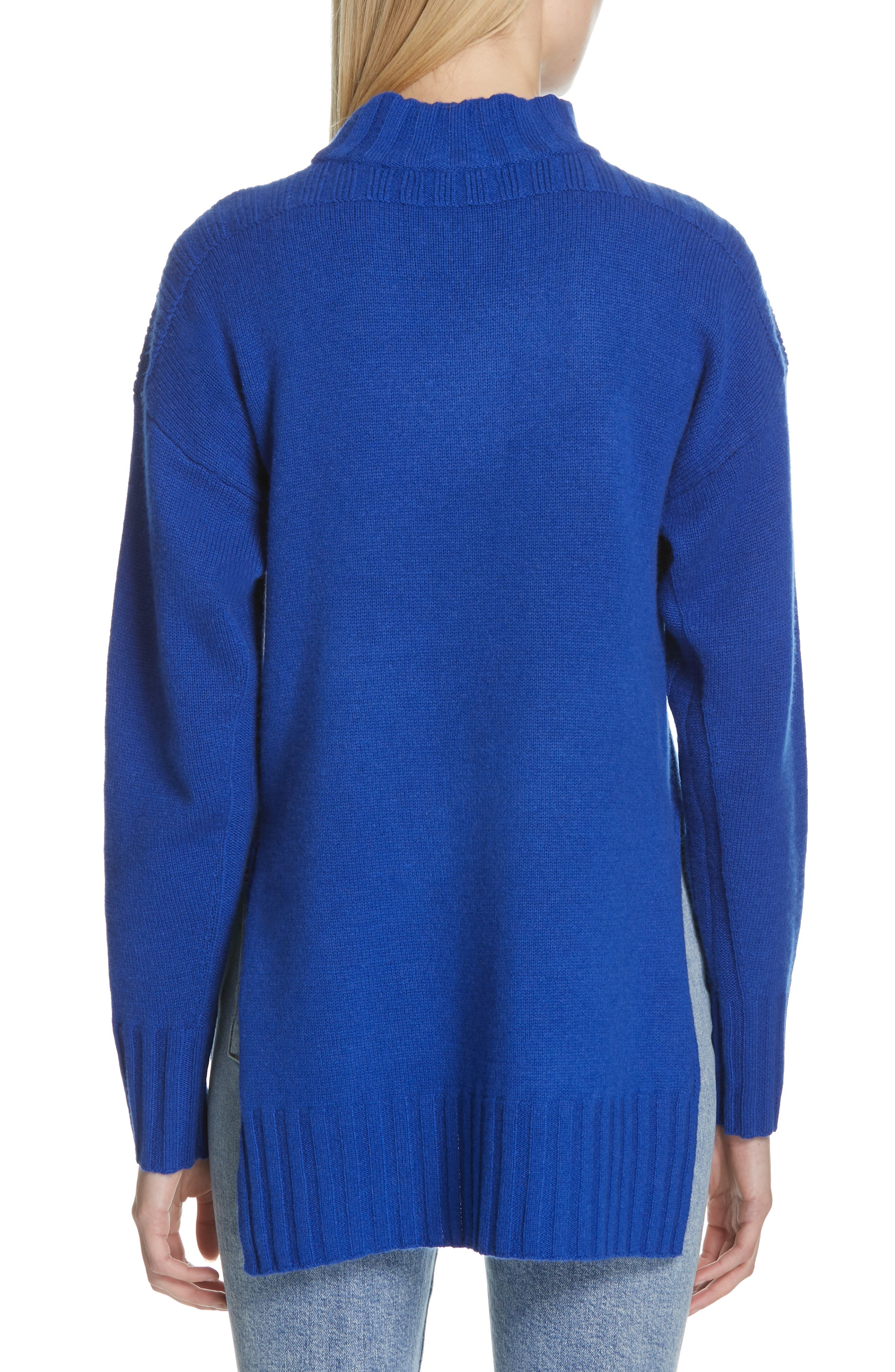 Stratford Wool & Cashmere Sweater,                             Alternate thumbnail 2, color,                             HYPER BLUE