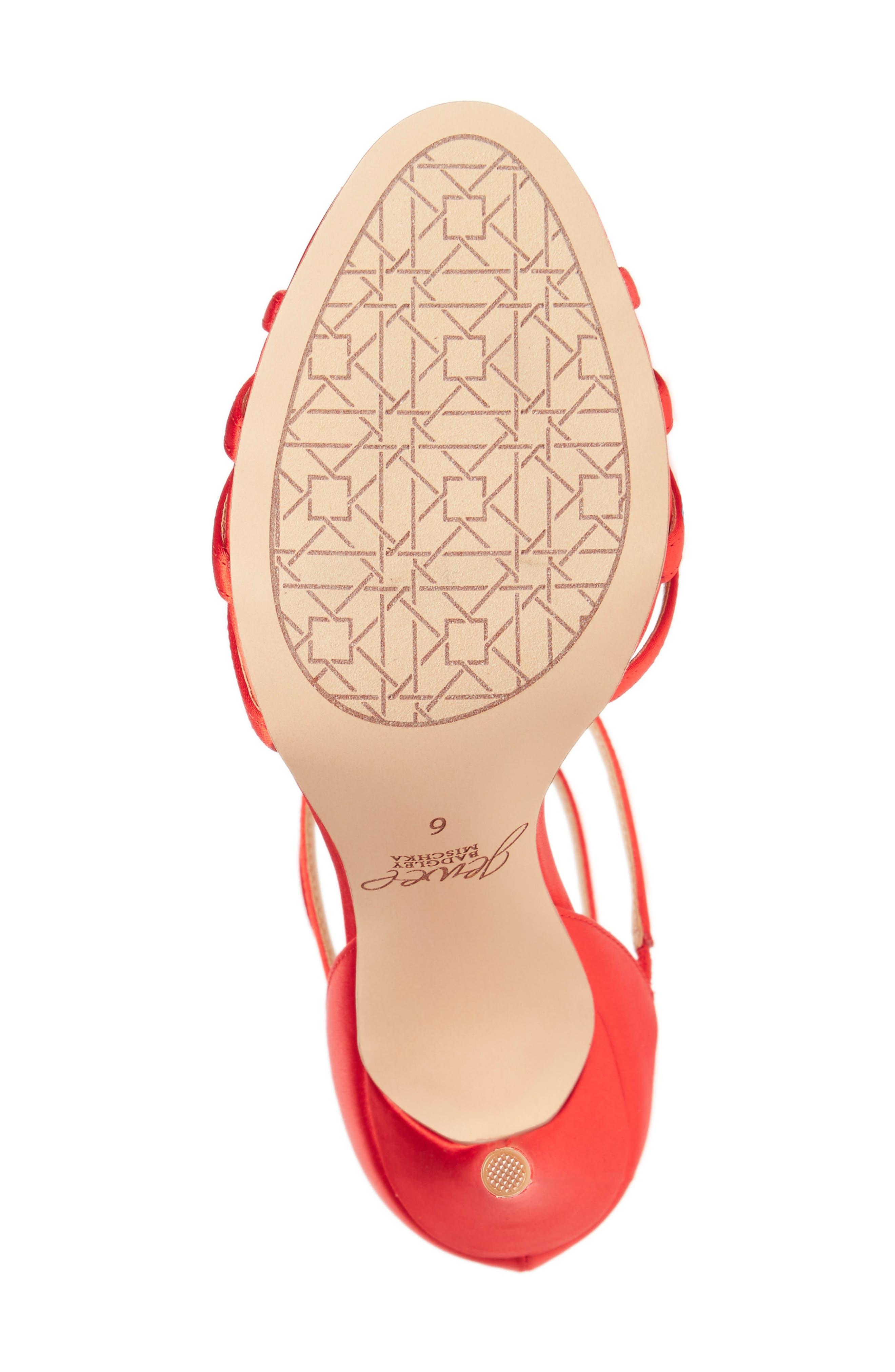 Hazel Embellished T-Strap Sandal,                             Alternate thumbnail 18, color,