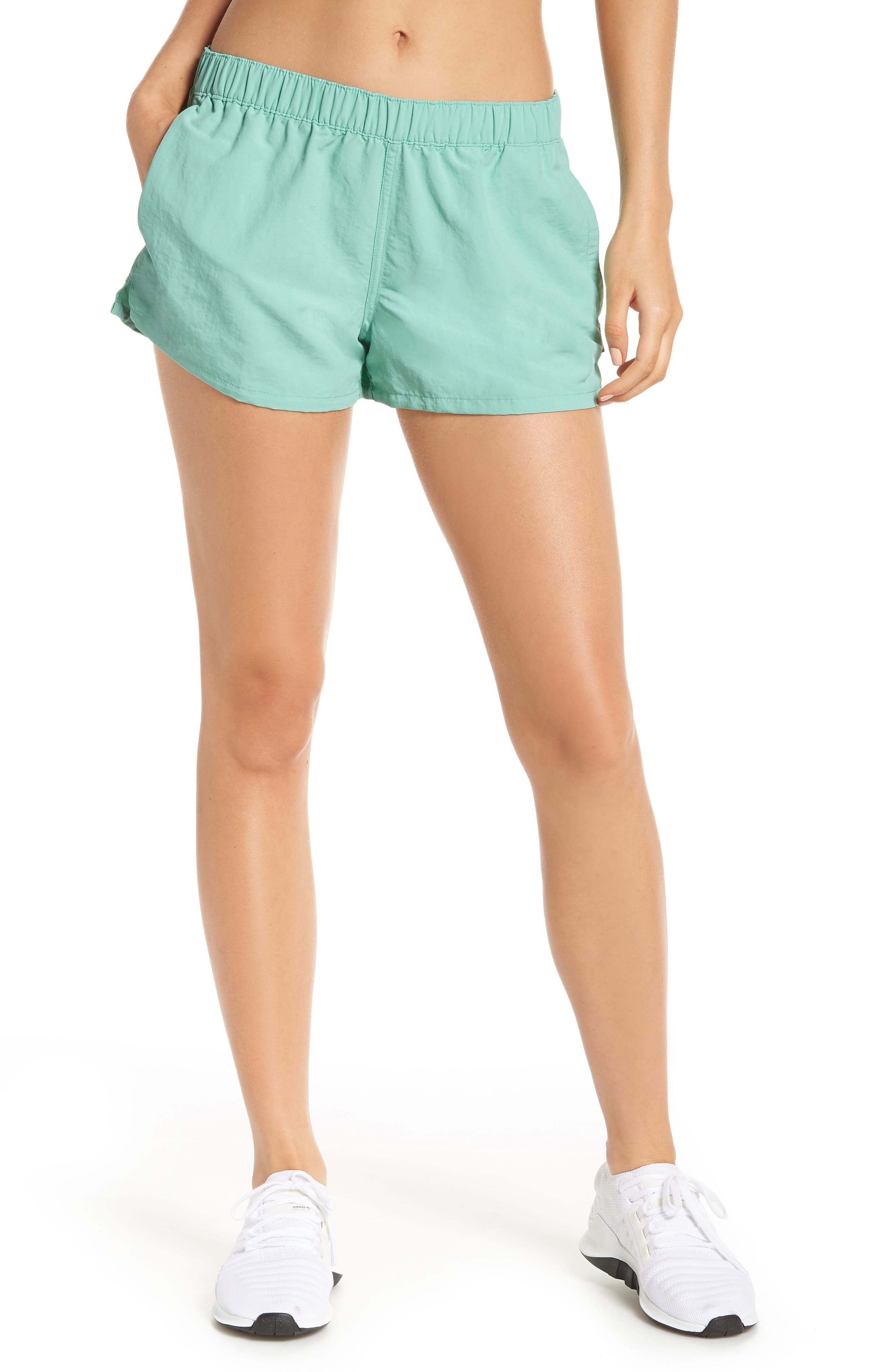 Barely Baggies Shorts,                         Main,                         color, VJOSA GREEN