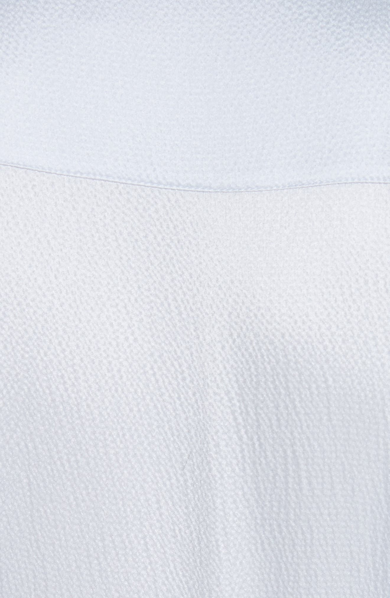 Micah Silk Dress,                             Alternate thumbnail 6, color,                             400