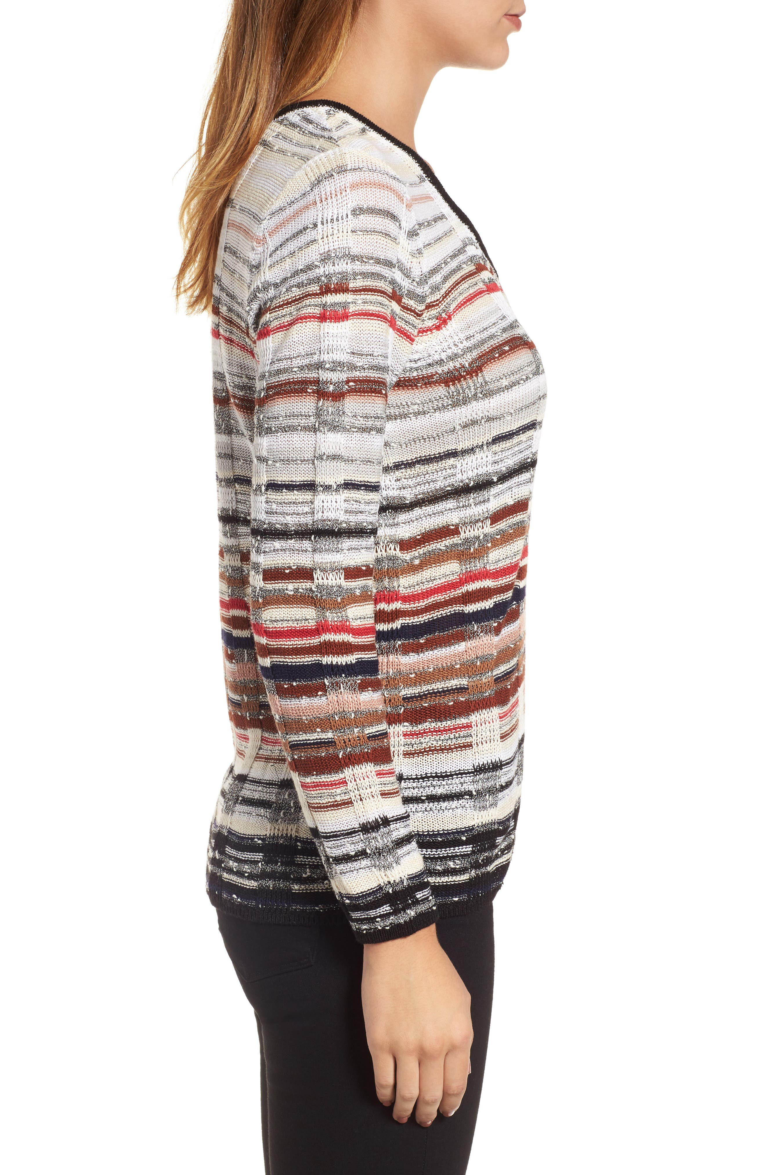 Red Hills Sweater,                             Alternate thumbnail 3, color,                             609