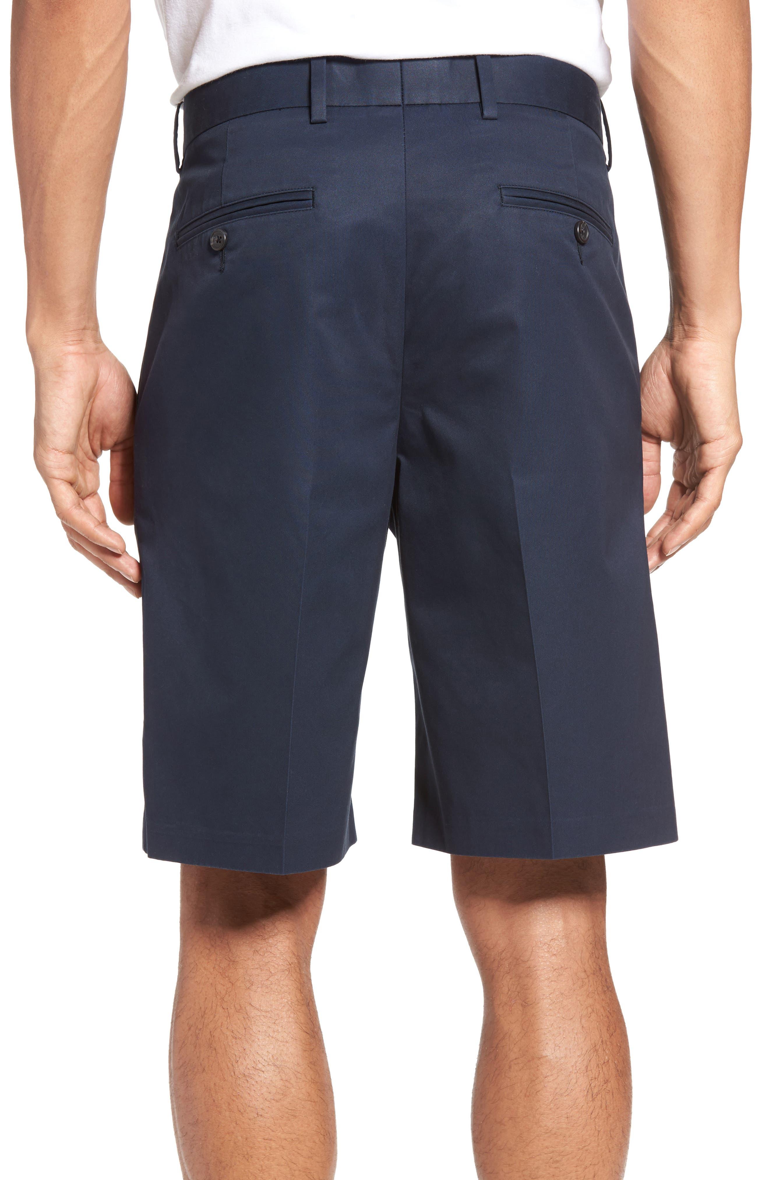 Pleated Supima<sup>®</sup> Cotton Shorts,                             Alternate thumbnail 10, color,
