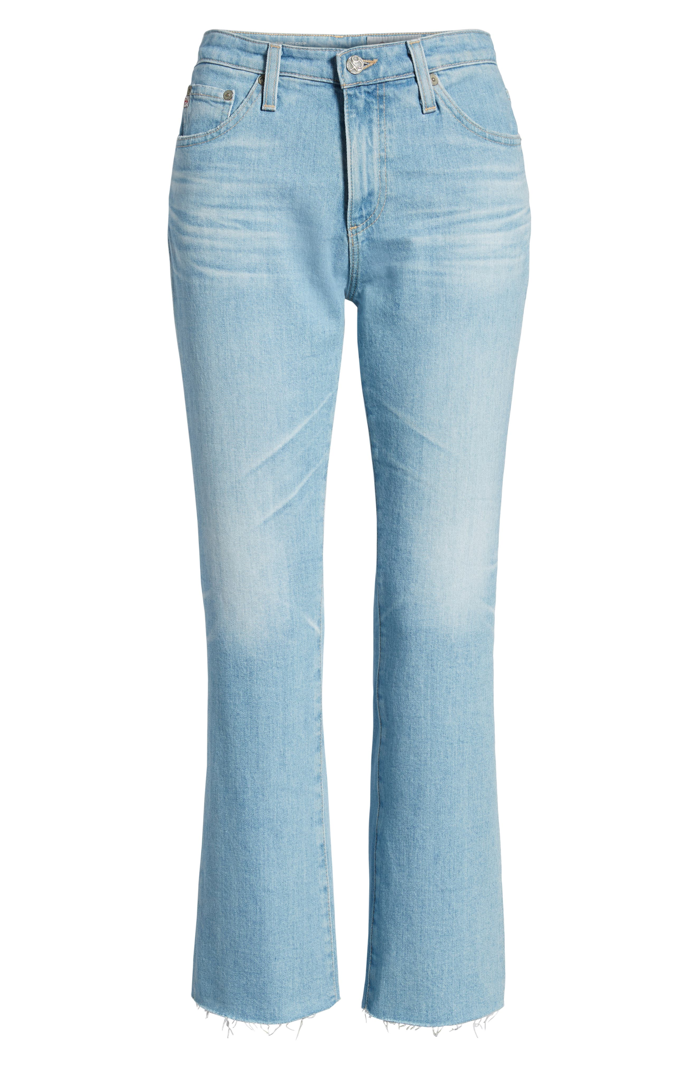 Jodi Crop Flare Jeans,                             Alternate thumbnail 7, color,                             496