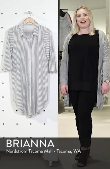 Stripe Tunic Top, sales video thumbnail