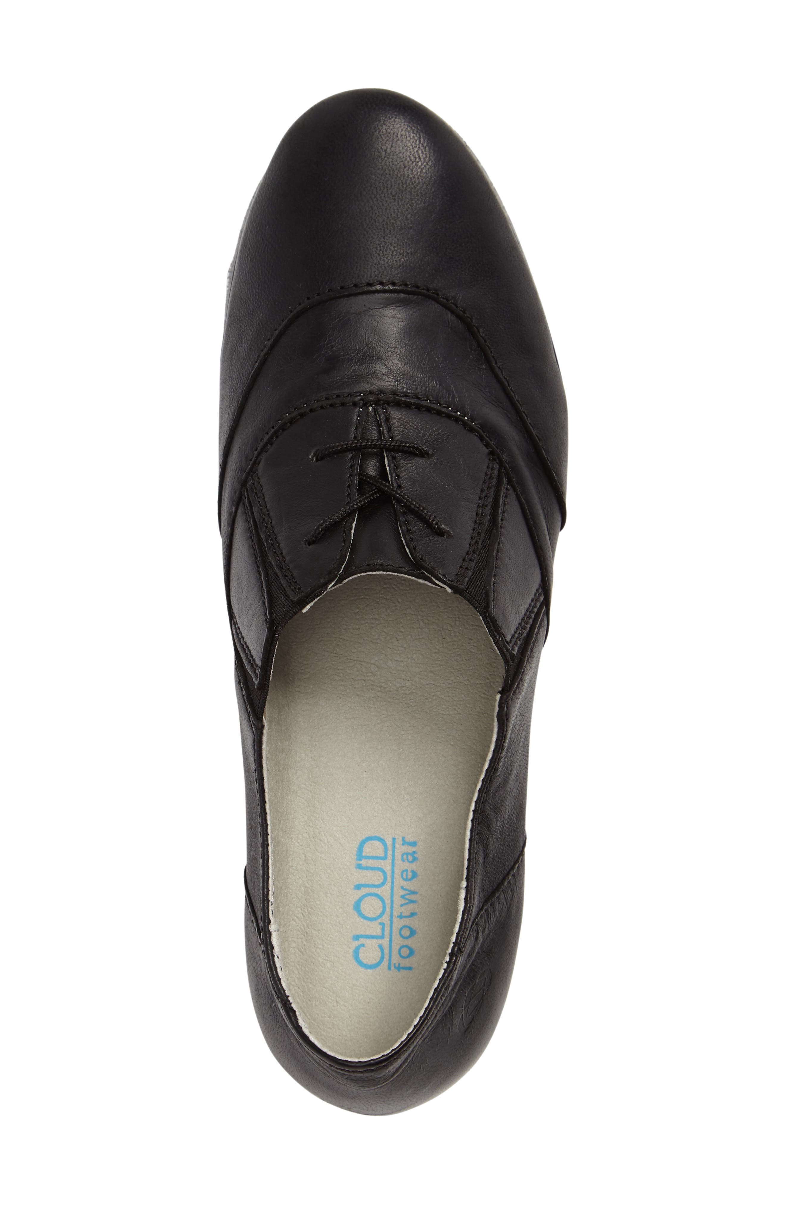 Bliss Lace-Up Oxford,                             Alternate thumbnail 3, color,                             001