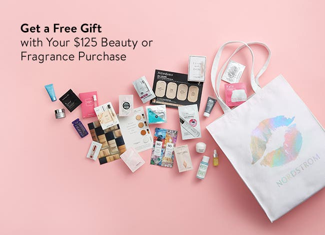Free gift with your $125 beauty or fragrance purchase.
