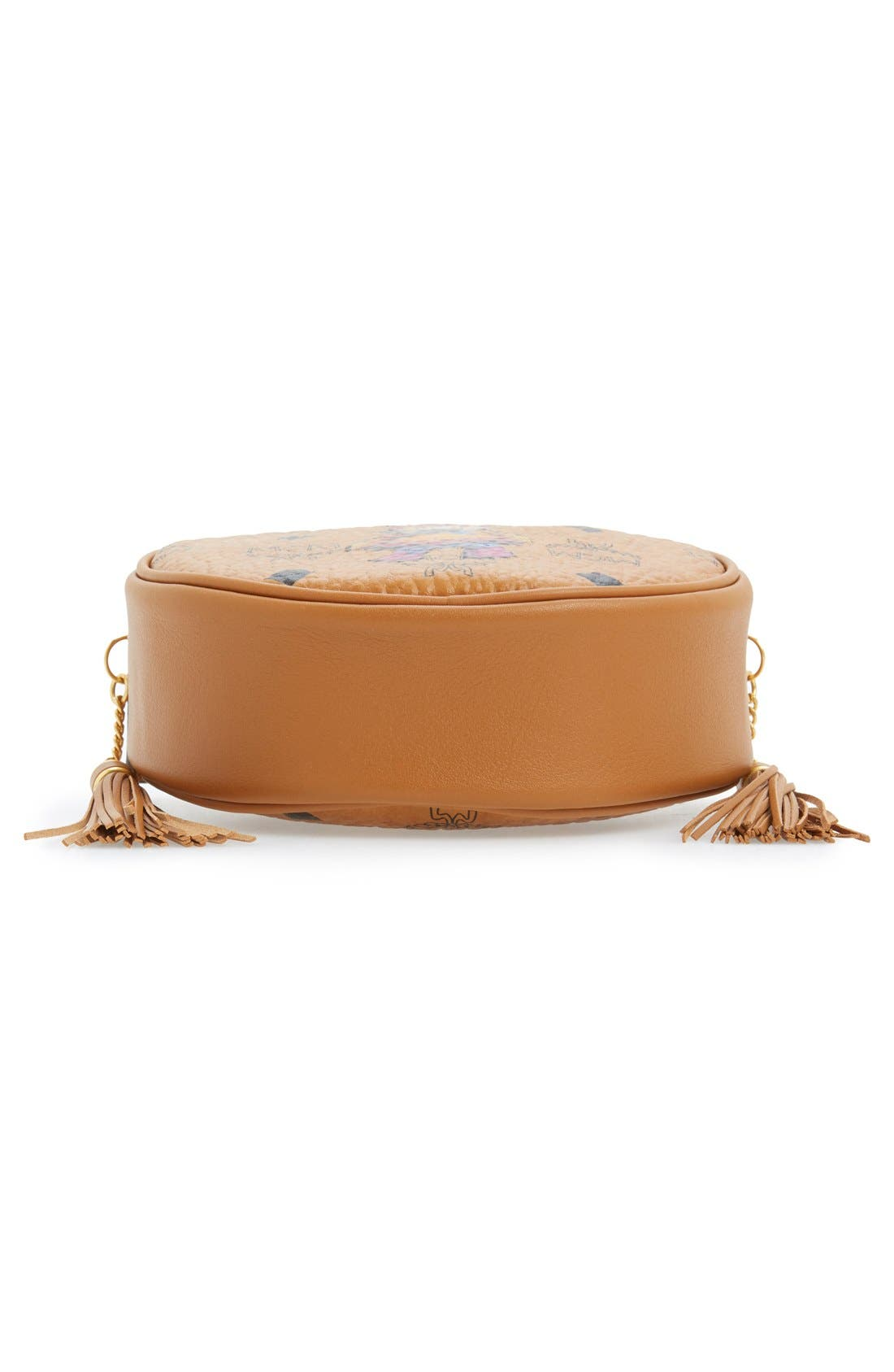 'Rabbit Tambourine Small' Round Crossbody Bag,                             Alternate thumbnail 2, color,                             200