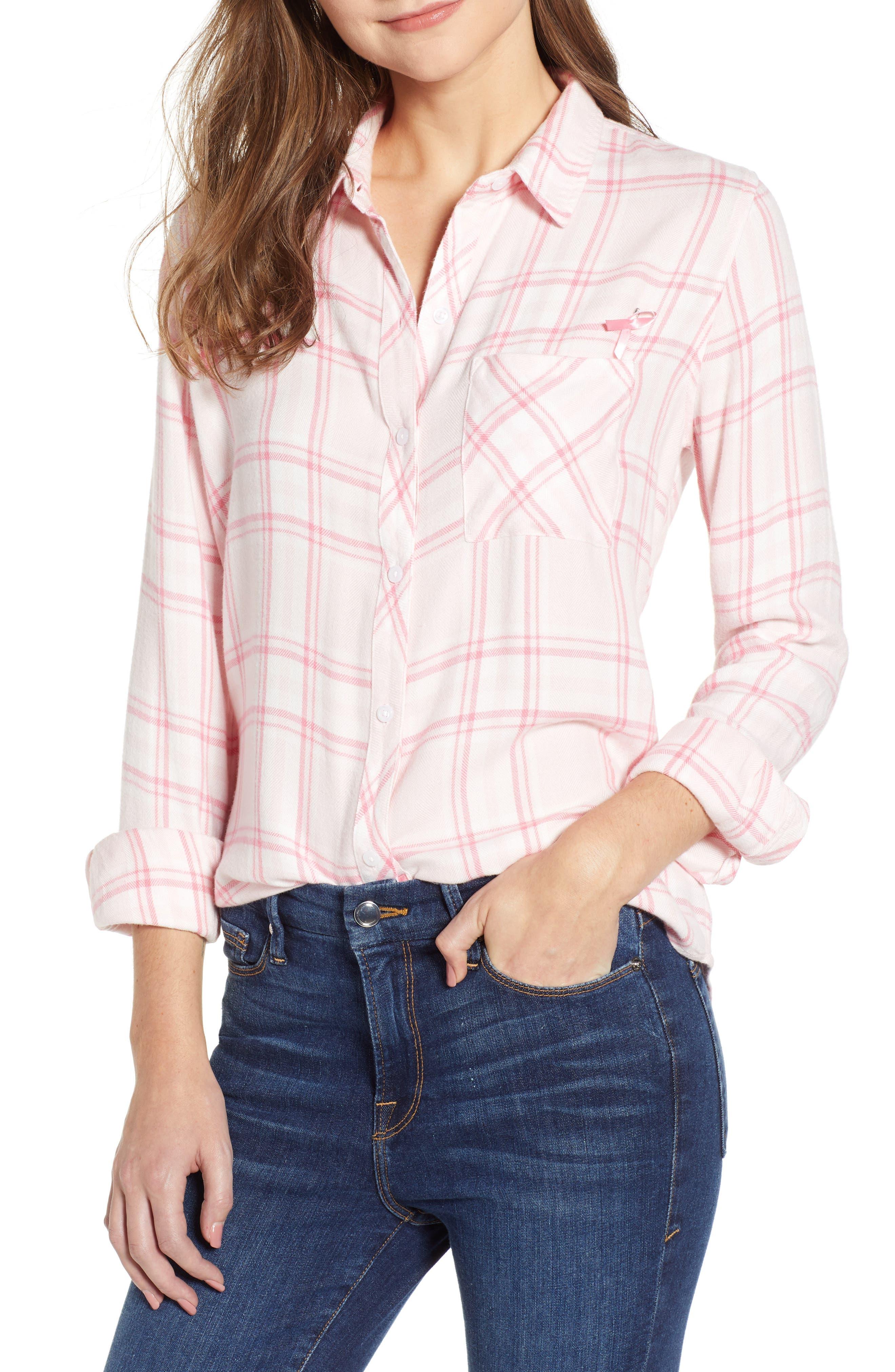Hunter Plaid Shirt,                         Main,                         color, 675