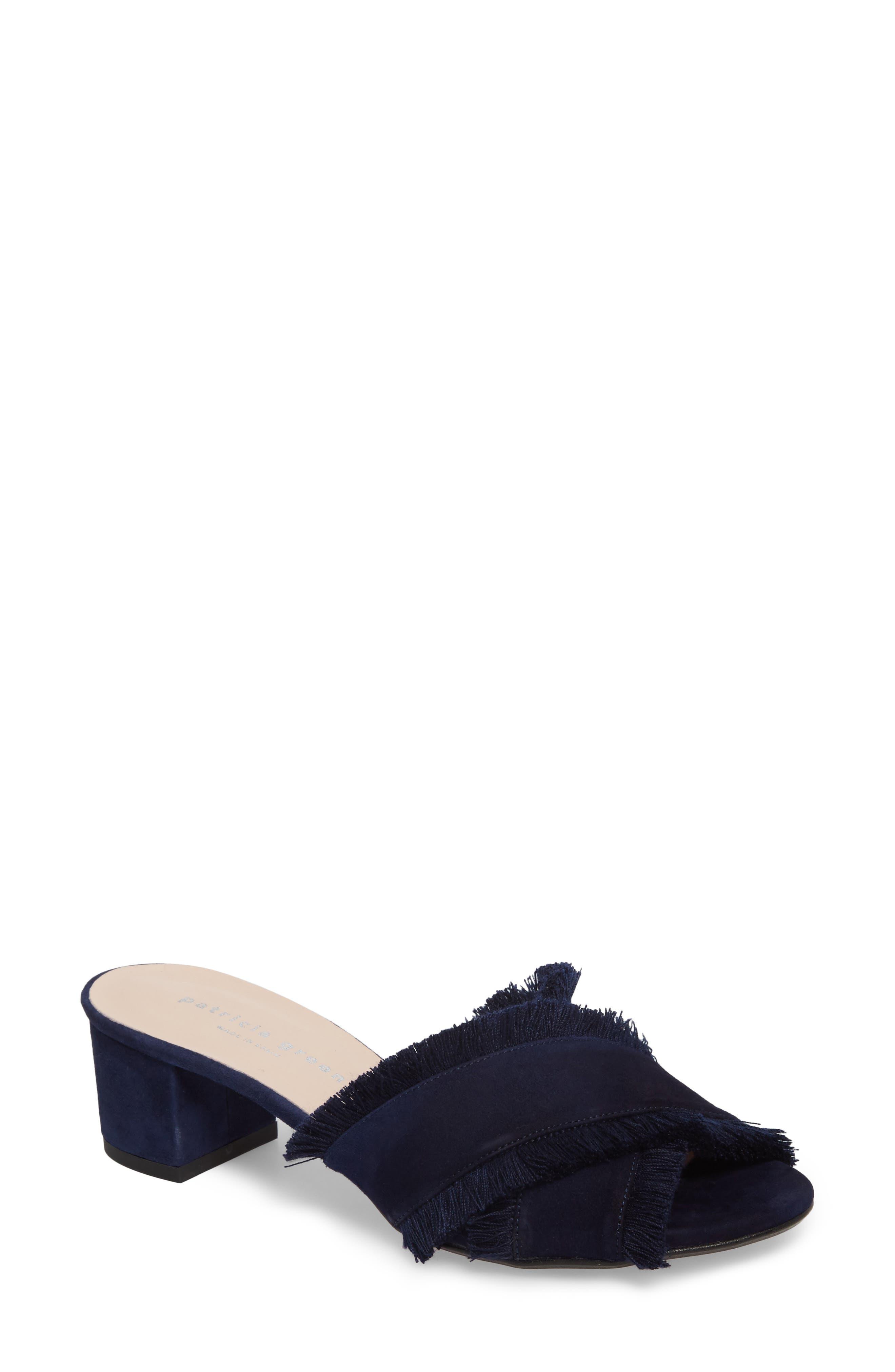 Patricia Green Kate Slide Sandal, Blue