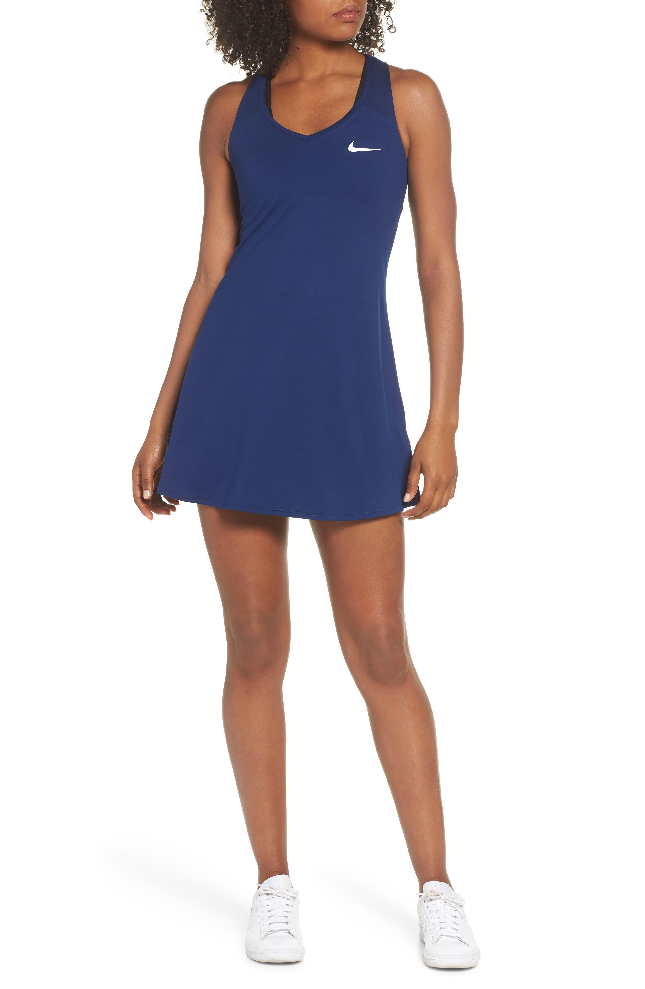 Dri-FIT Tennis Dress,                         Main,                         color, 492