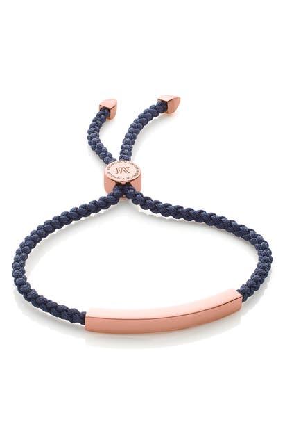Monica Vinader Bracelets ENGRAVABLE LINEAR FRIENDSHIP BRACELET
