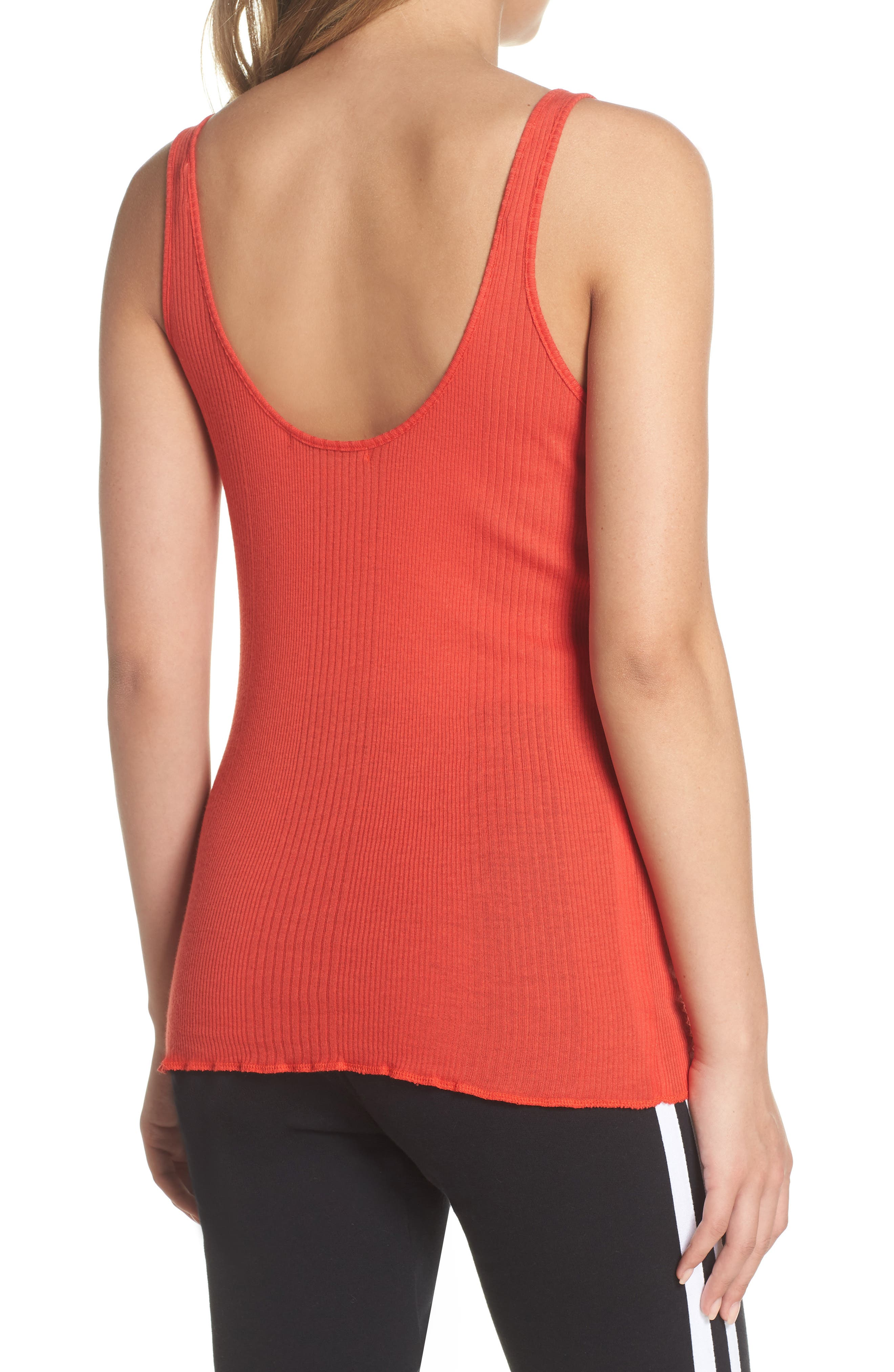 Scoop Neck Tank,                             Alternate thumbnail 2, color,