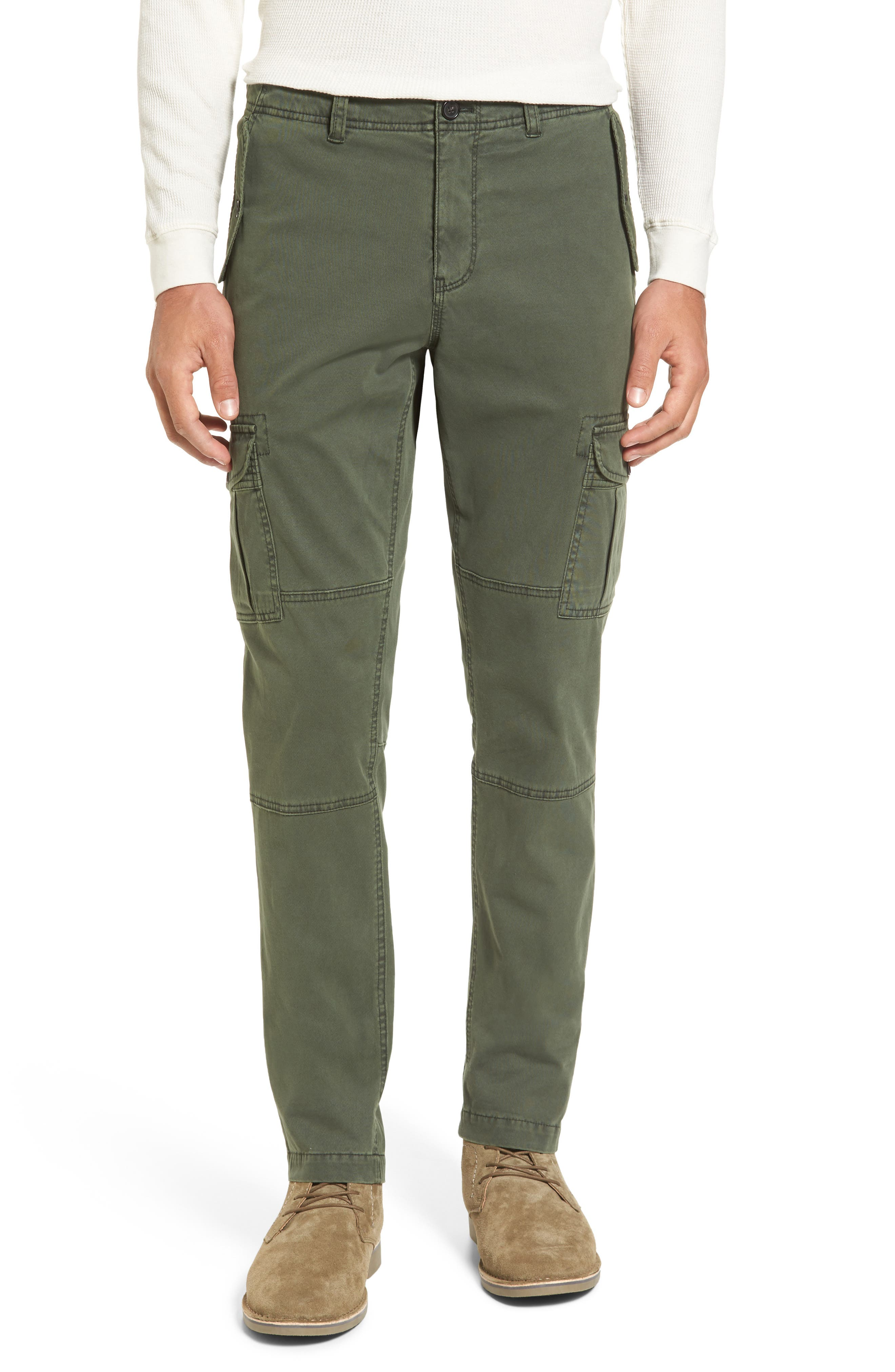 Stretch Twill Cargo Pants,                             Main thumbnail 2, color,